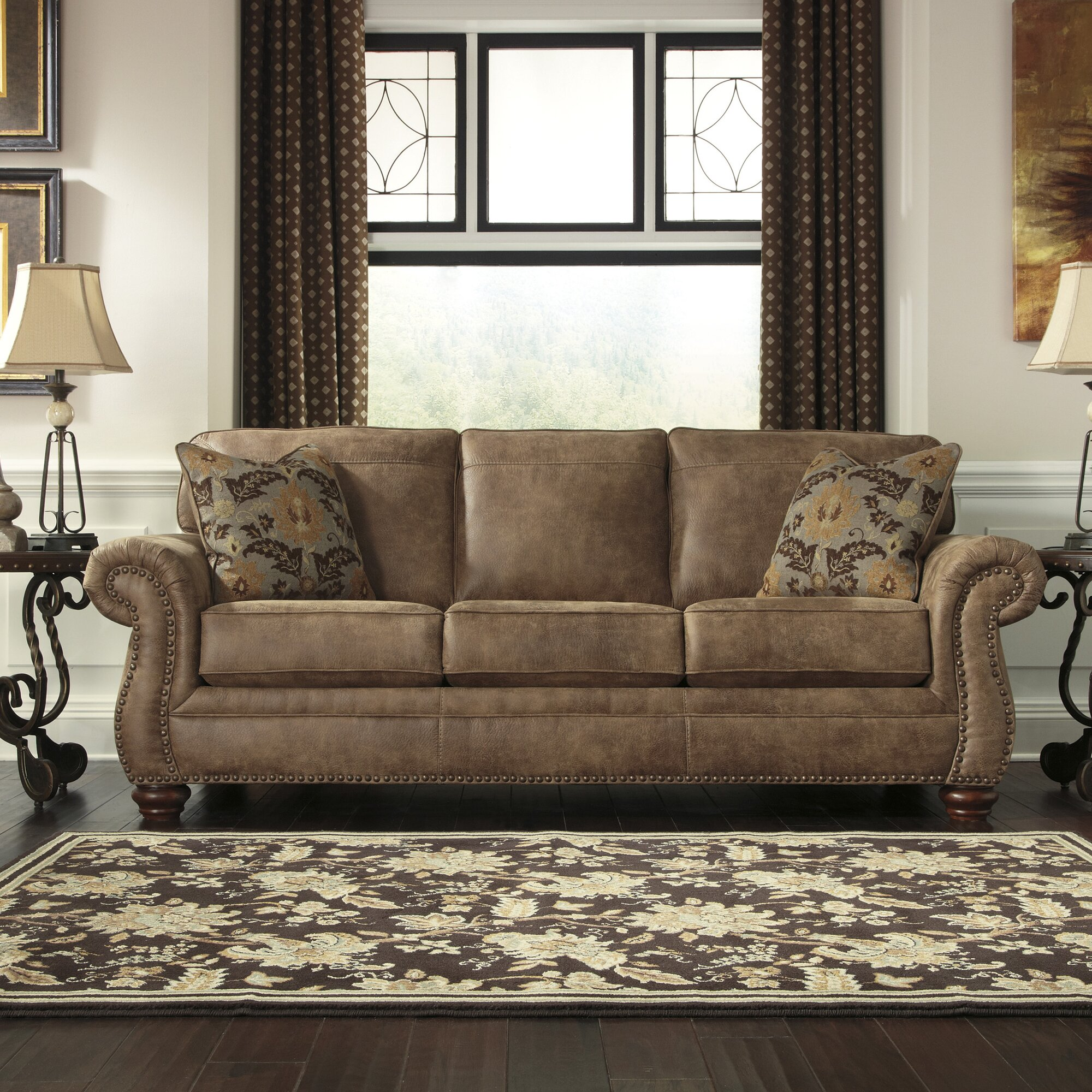 Signature Design by Ashley Bessemer Sofa & Reviews | Wayfair
