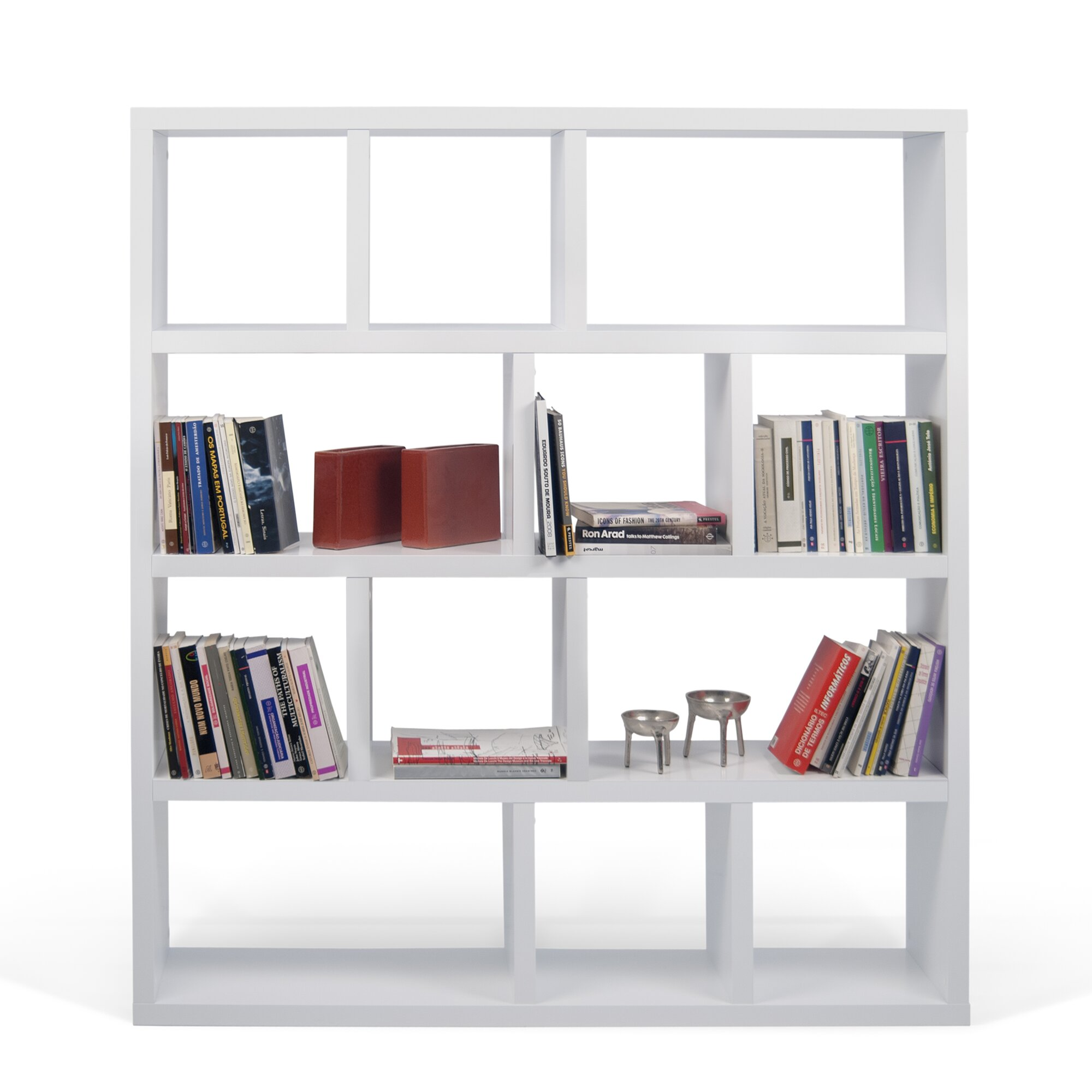 berlin 4 level 63 cube unit bookcase reviews allmodern. Black Bedroom Furniture Sets. Home Design Ideas