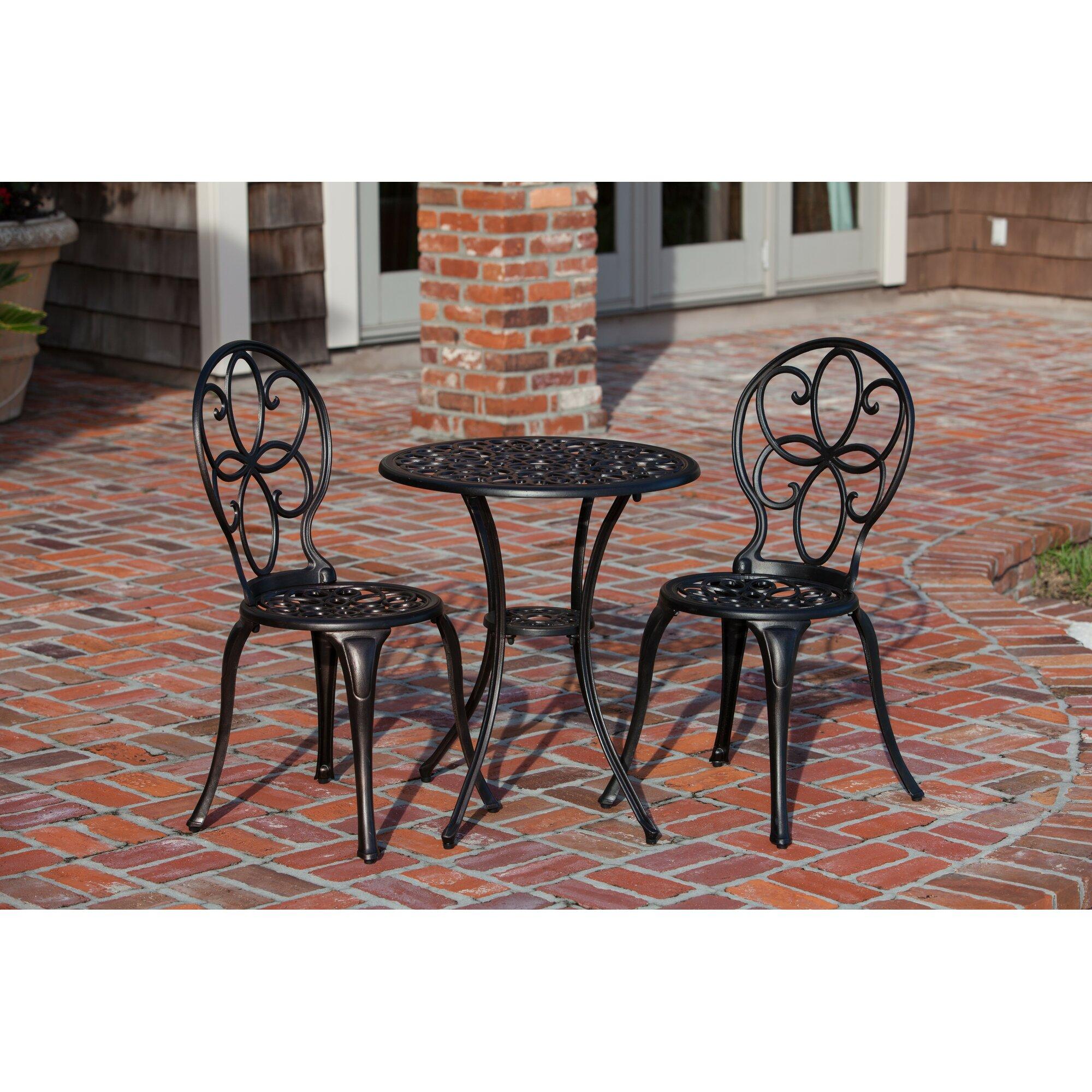 Bistro set outdoor furniture   3 Piece Bistro Set. Bistro Set Outdoor Furniture