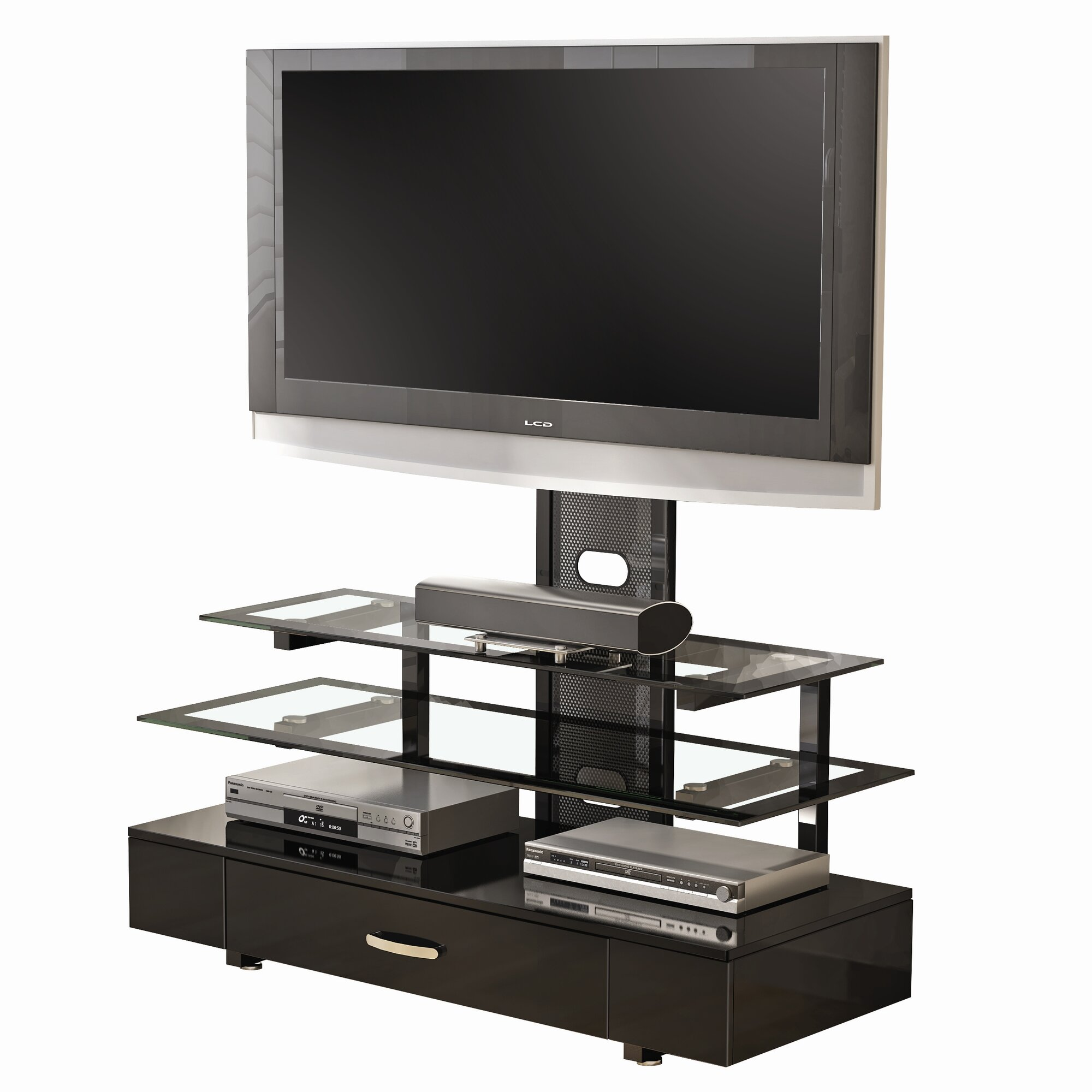 z line designs ambrie flat panel 3 in 1 tv mount system reviews wayfair. Black Bedroom Furniture Sets. Home Design Ideas