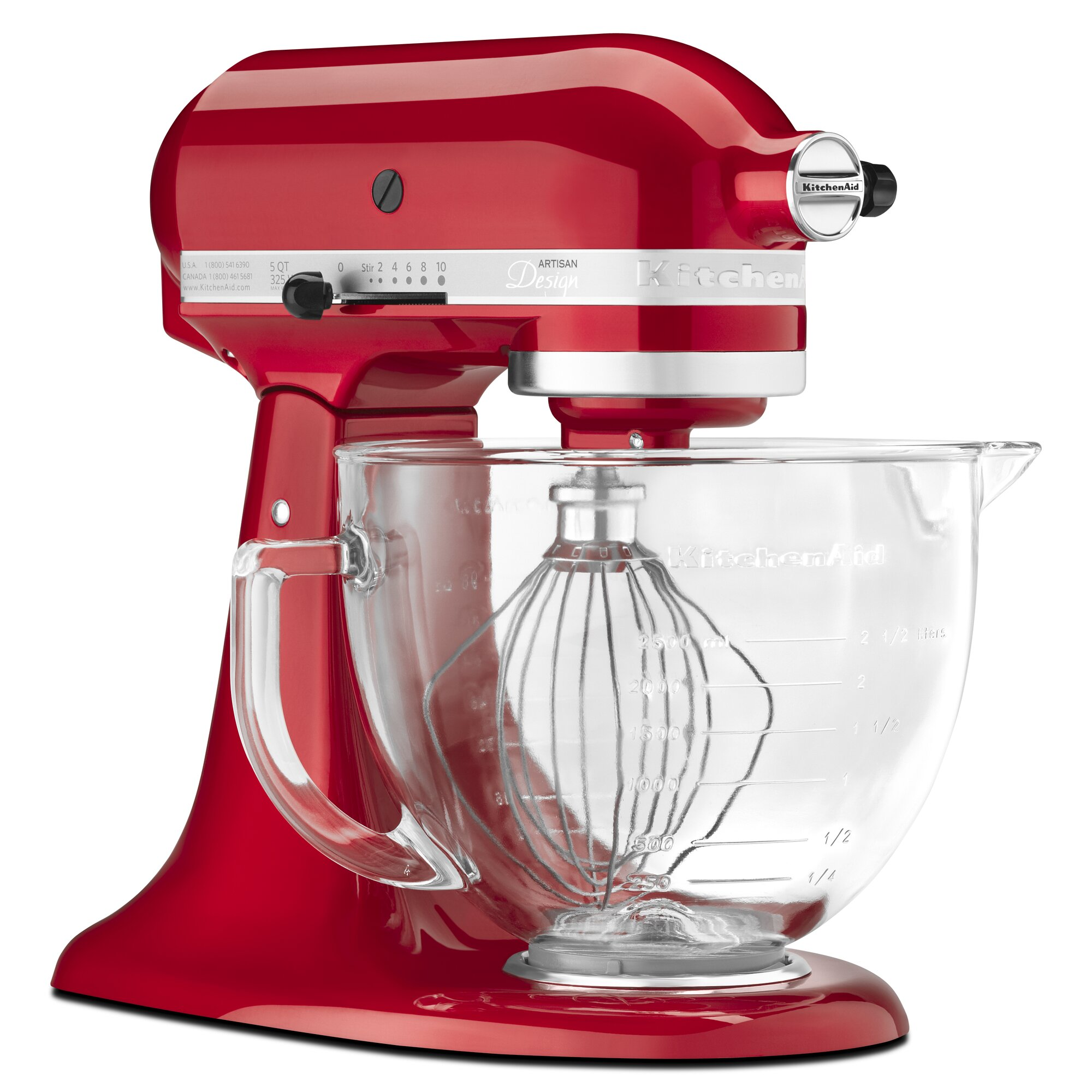 Glass Bowl For Kitchenaid Lift Stand Mixer