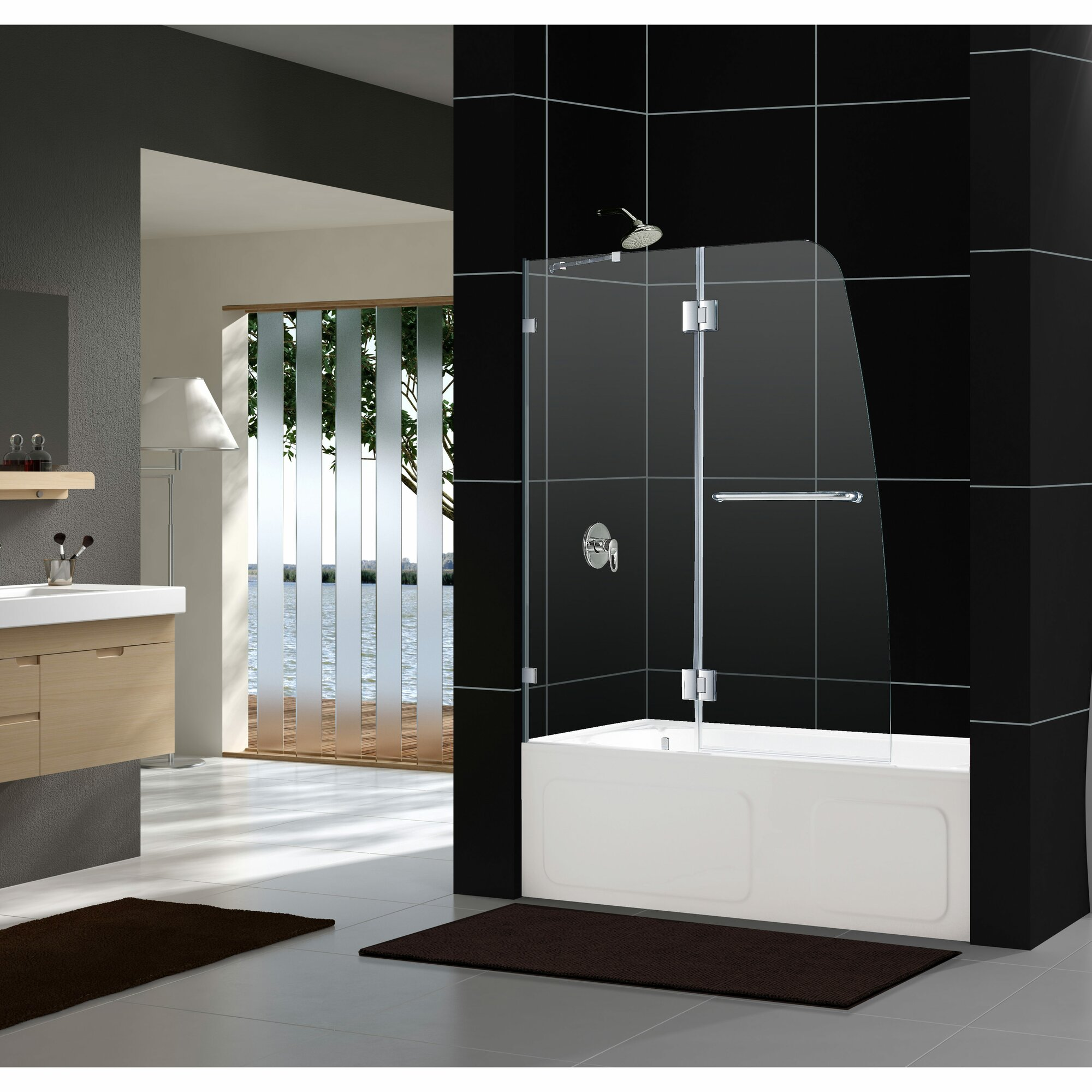 Merlyn 8 series sliding door amp inline panel - Aqua Lux 48 Image Number 42 Of Showerlux Sliding Doors