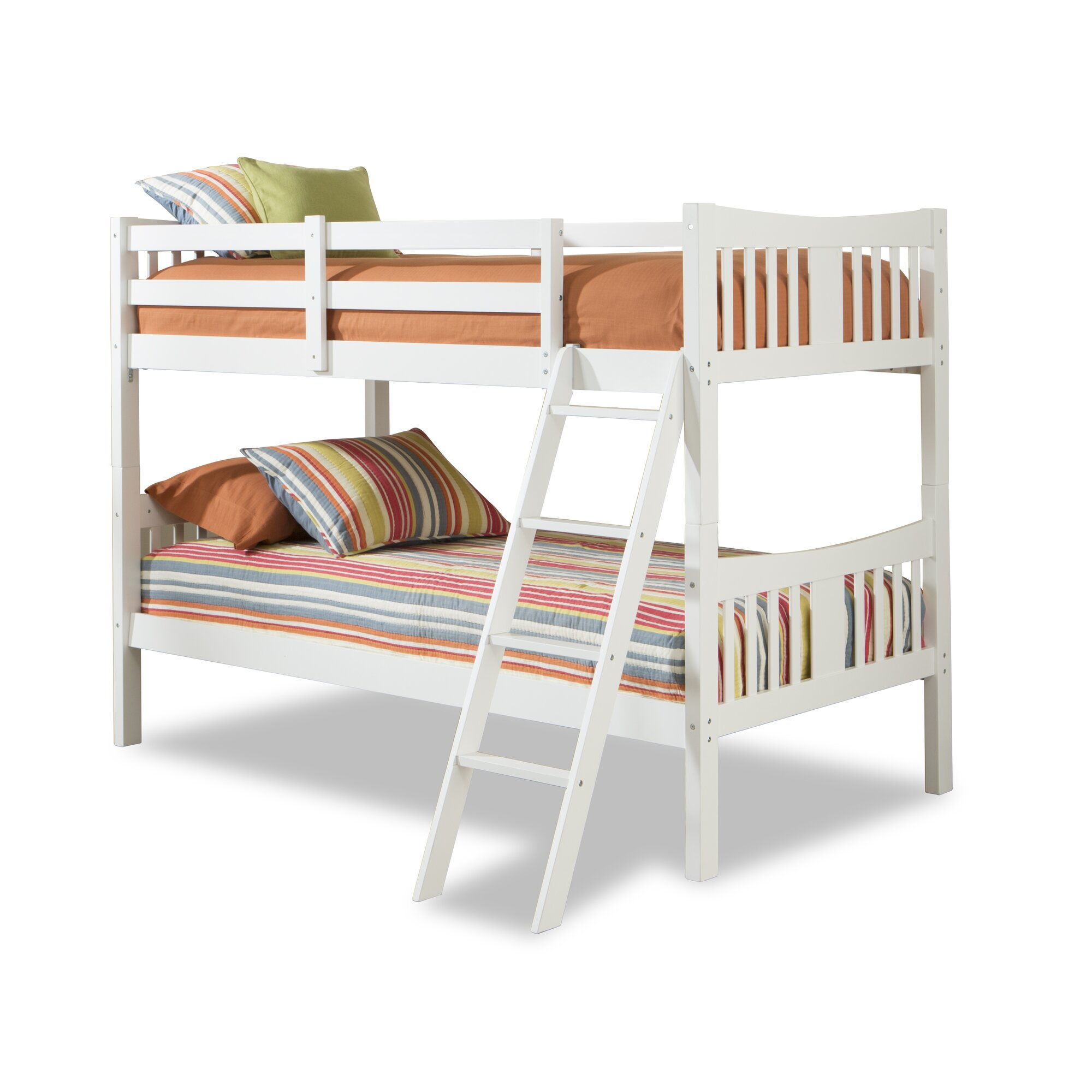 Storkcraft caribou solid hardwood twin bunk bed reviews for Stork craft caribou bunk bed
