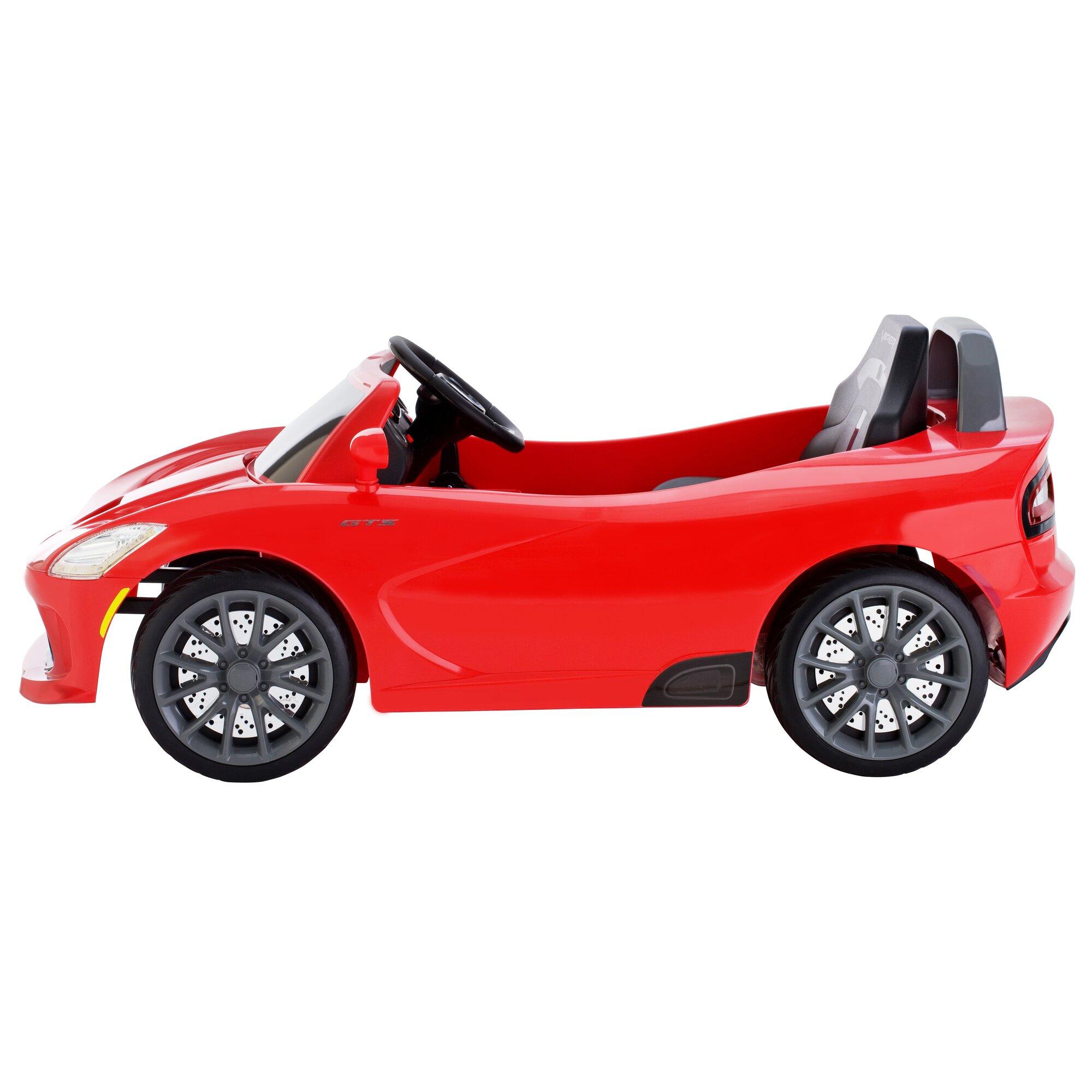 dodge viper srt 6v battery powered car