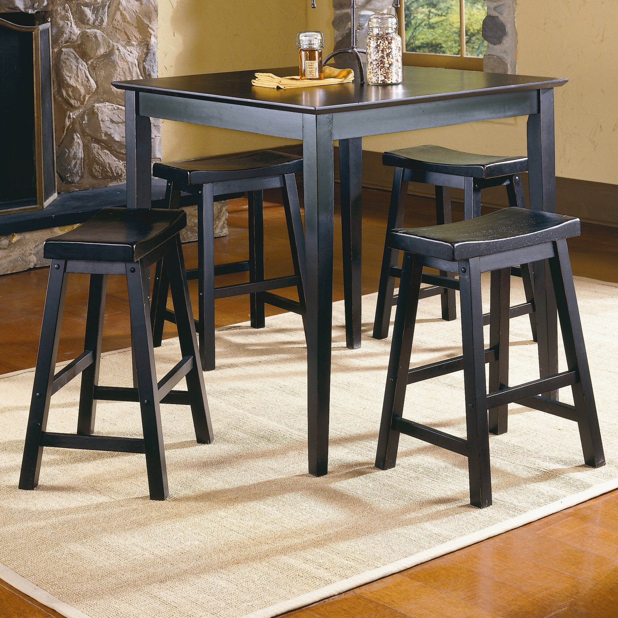 Woodhaven Hill 5 Piece Counter Height Pub Set & Reviews