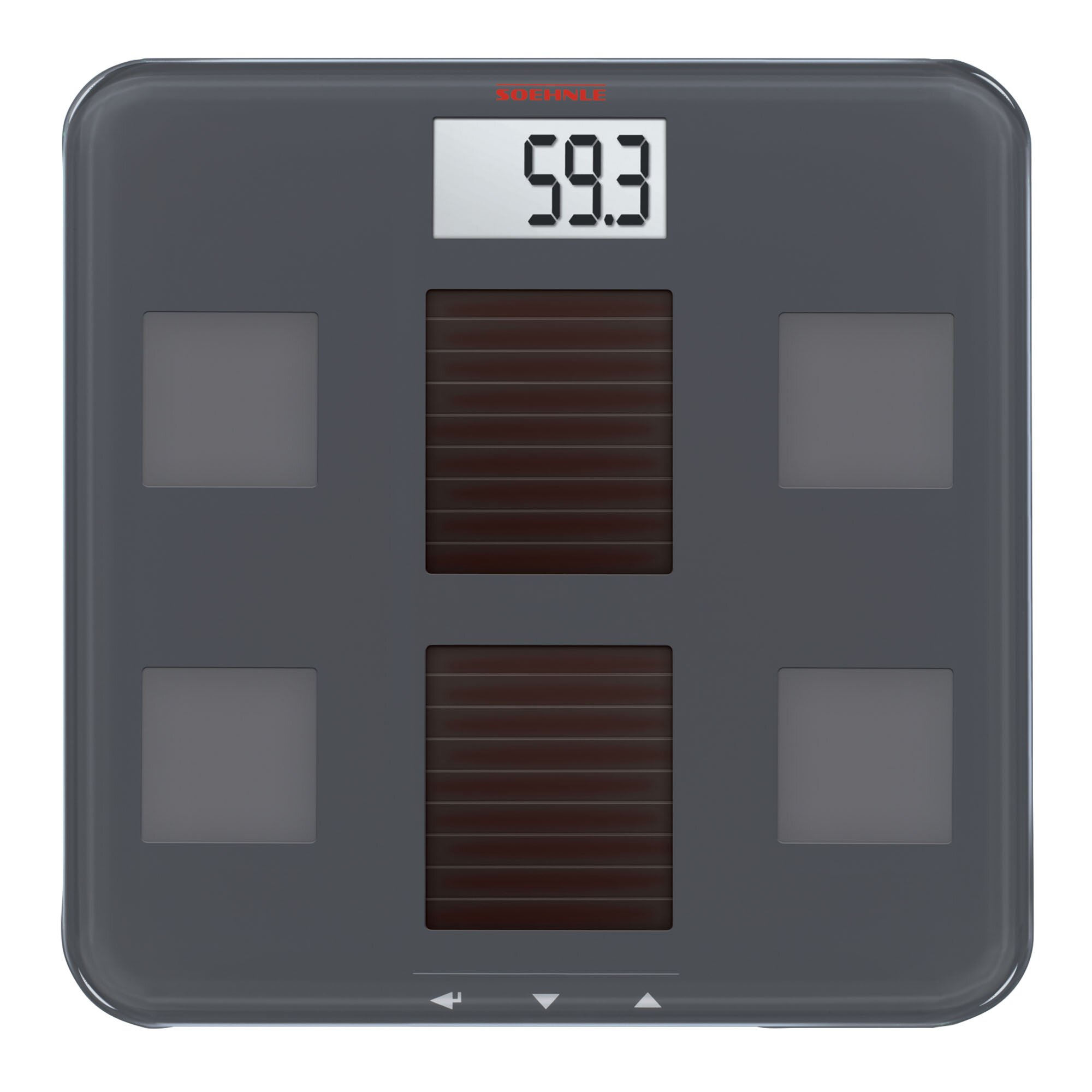 Solar Fit Body Precision Digital Analysis Bmi Bathroom Scale