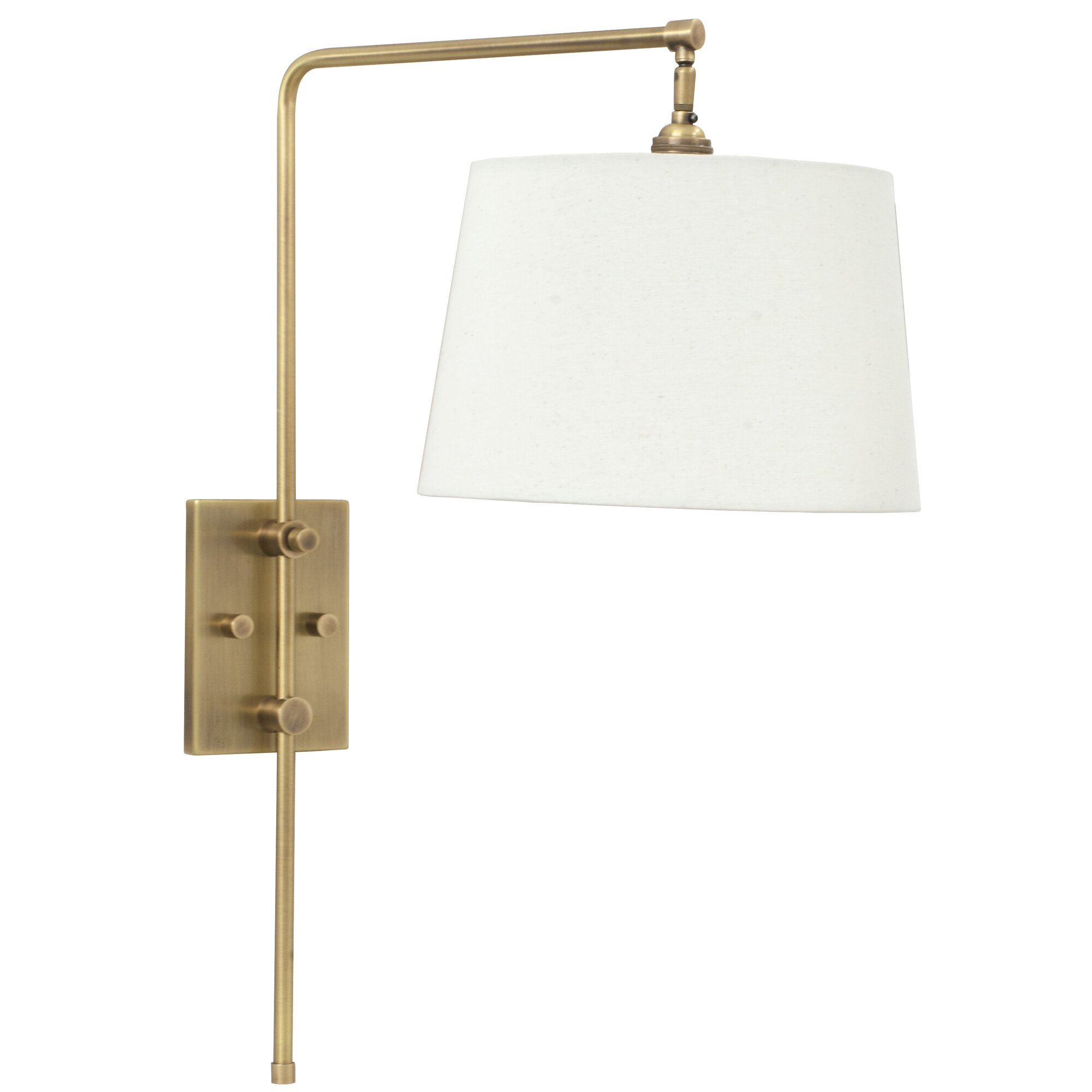 bridge 3 light swing arm - Bedroom Swing Arm Wall Sconces