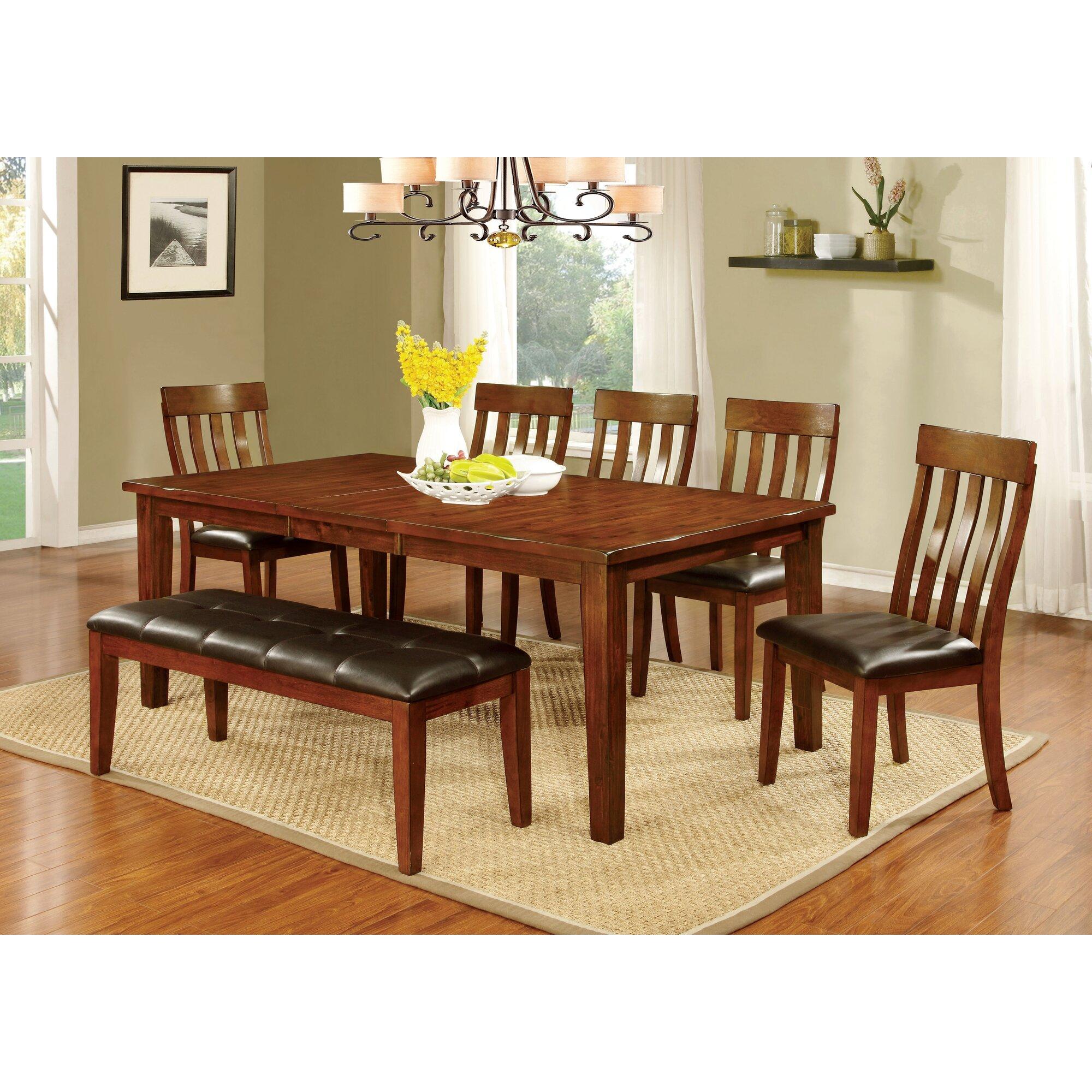 Hokku designs dunham 6 piece dining set reviews for Hokku designs dining room furniture