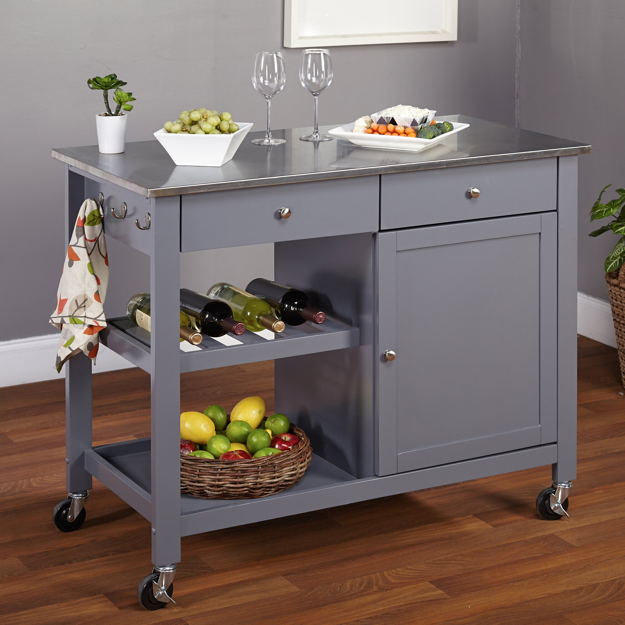 Kitchen Island Trolley Kitchen Island Trolley Ebay With Kitchen