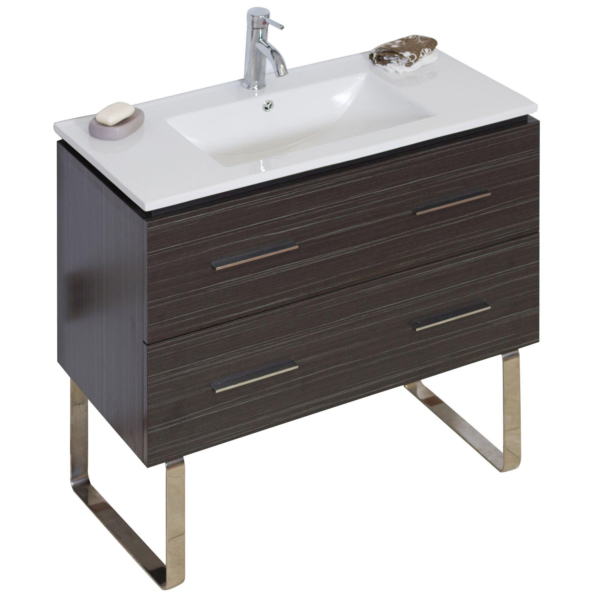 american imaginations modern 35 single bathroom vanity base revie
