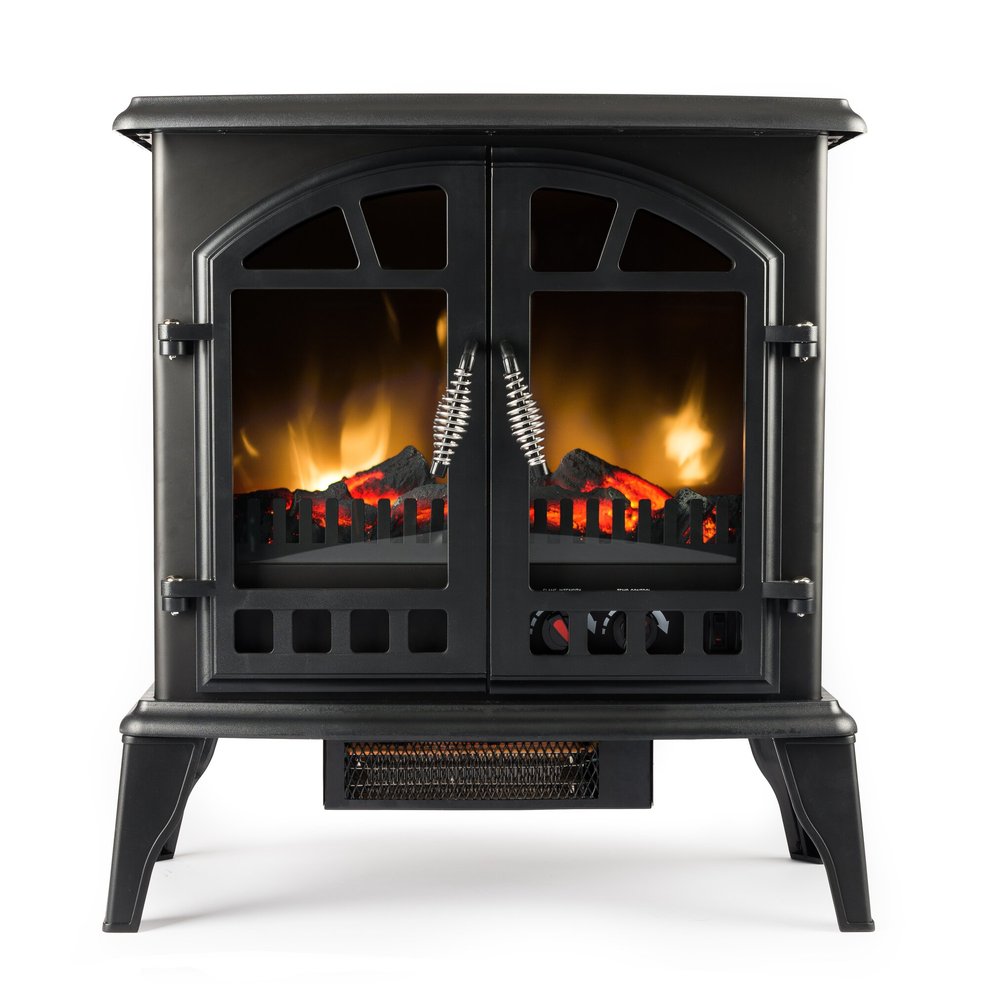 Electric Wood Burner Part - 36: Vent Free Electric Stove