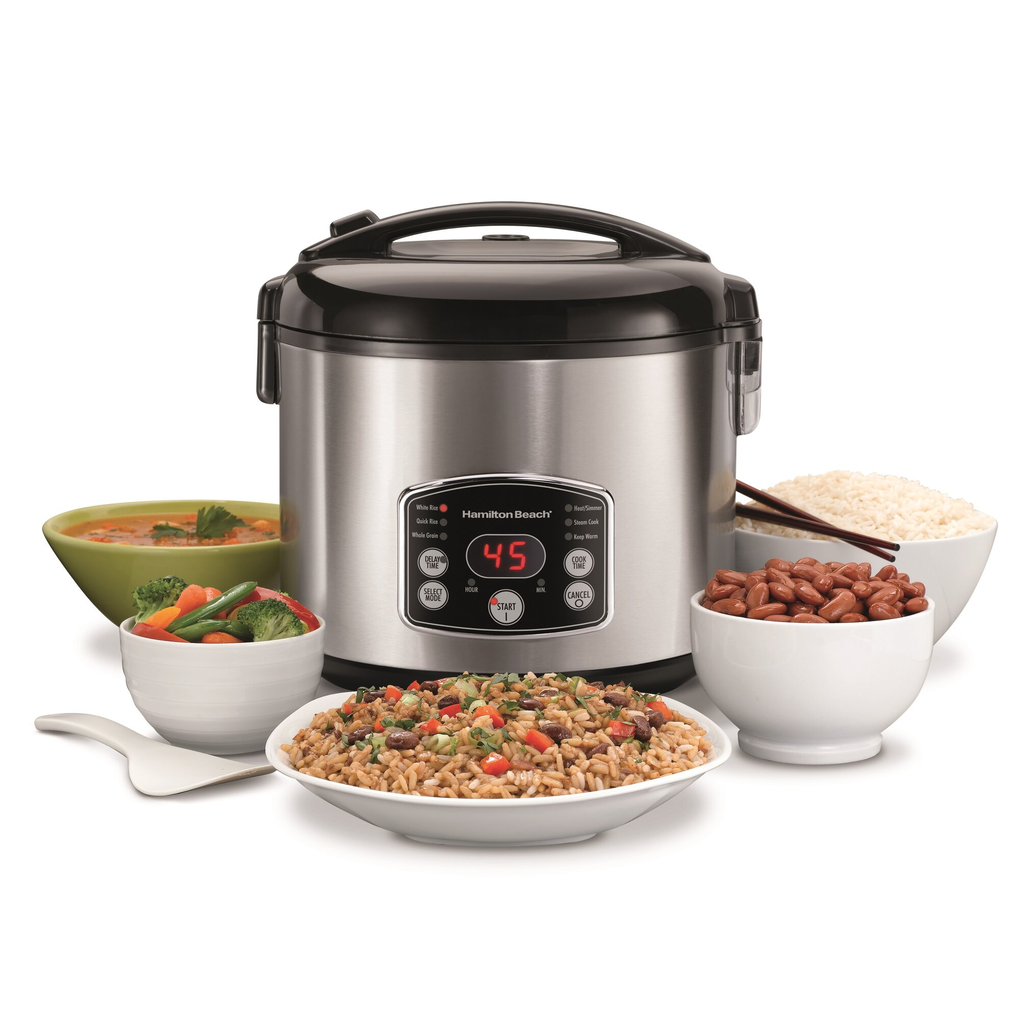 14cup Digital Simplicity Rice Cooker How To Cook