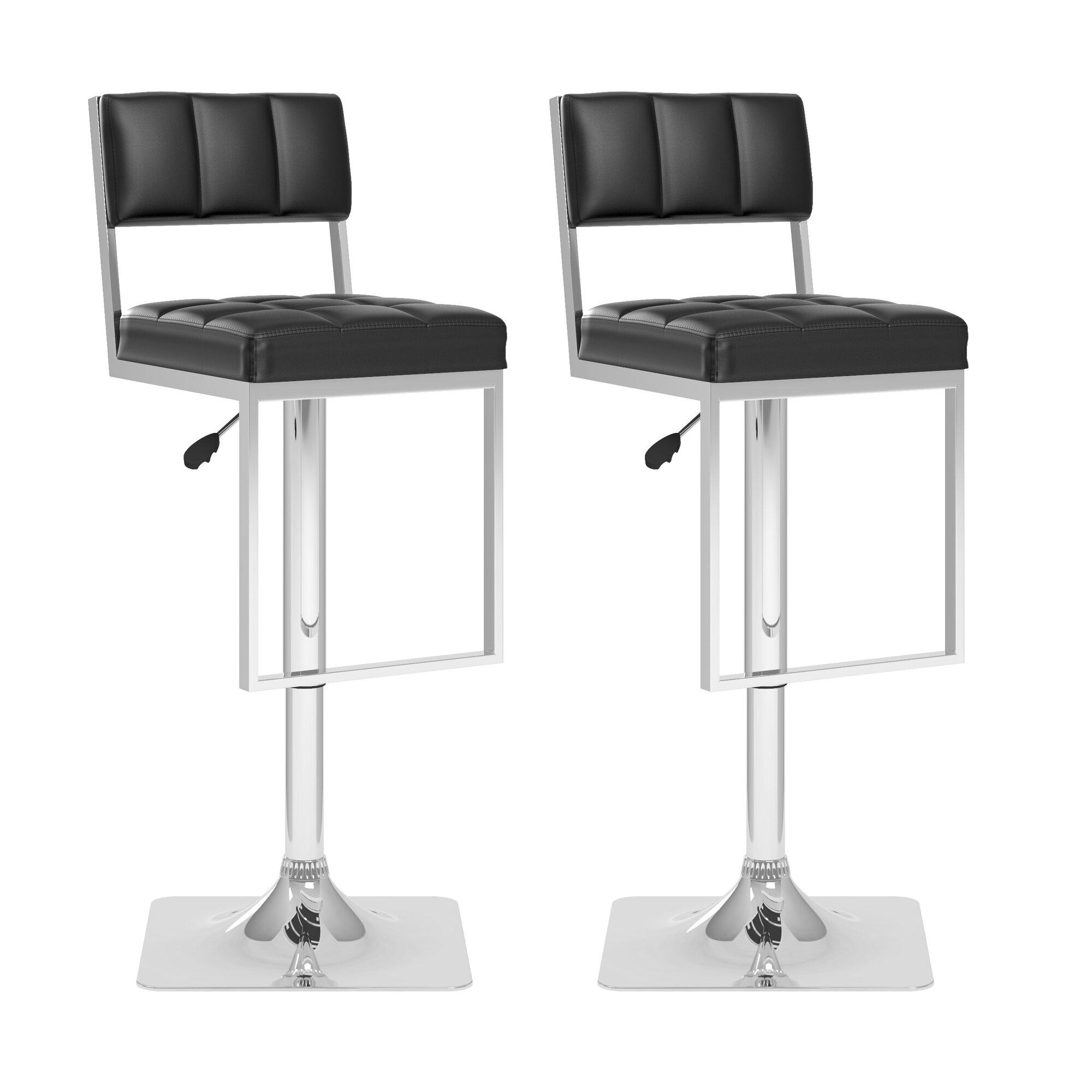 CorLiving Adjustable Height Swivel Bar Stool & Reviews | Wayfair