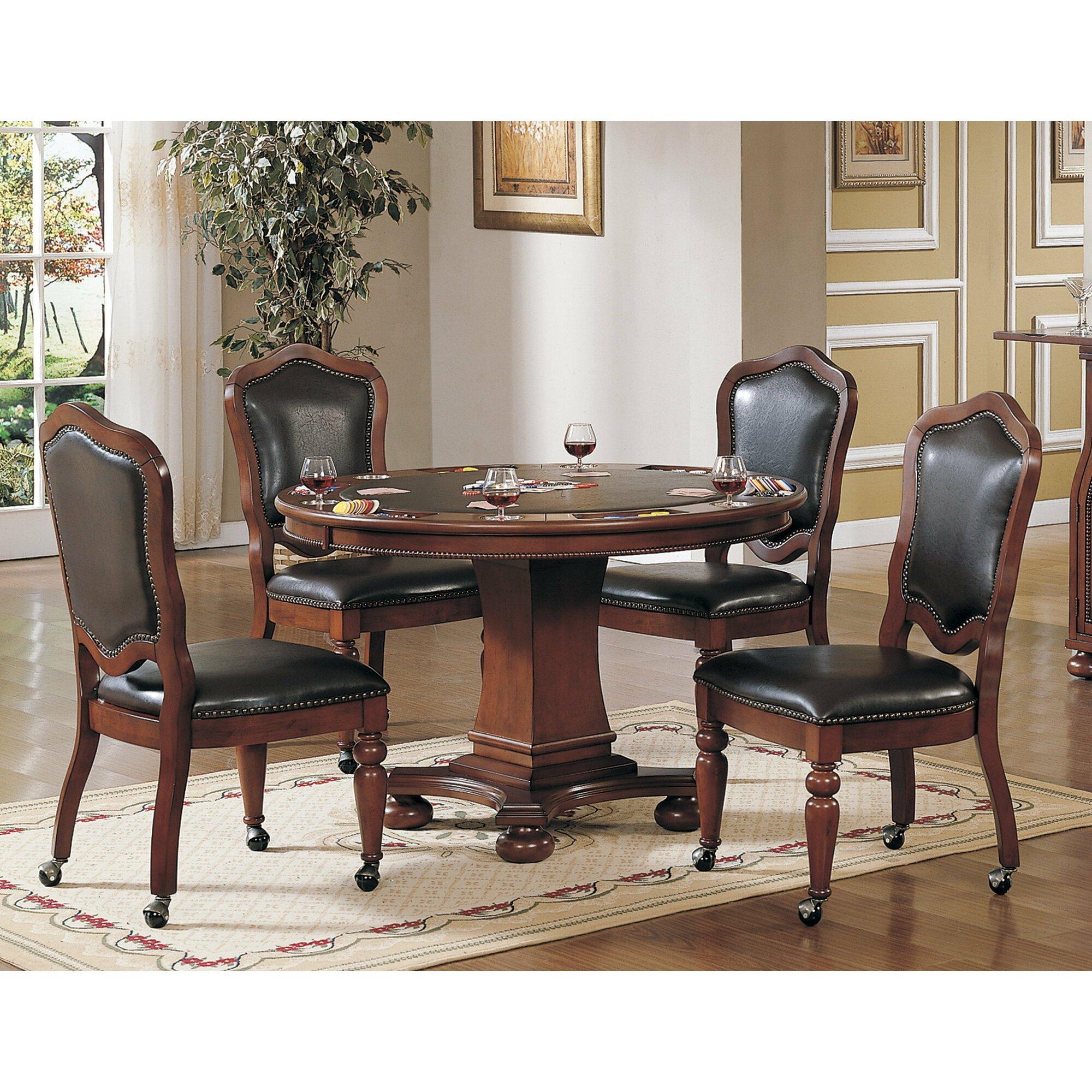 "Sunset Trading 48"" Bellagio Poker Table & Reviews | Wayfair"