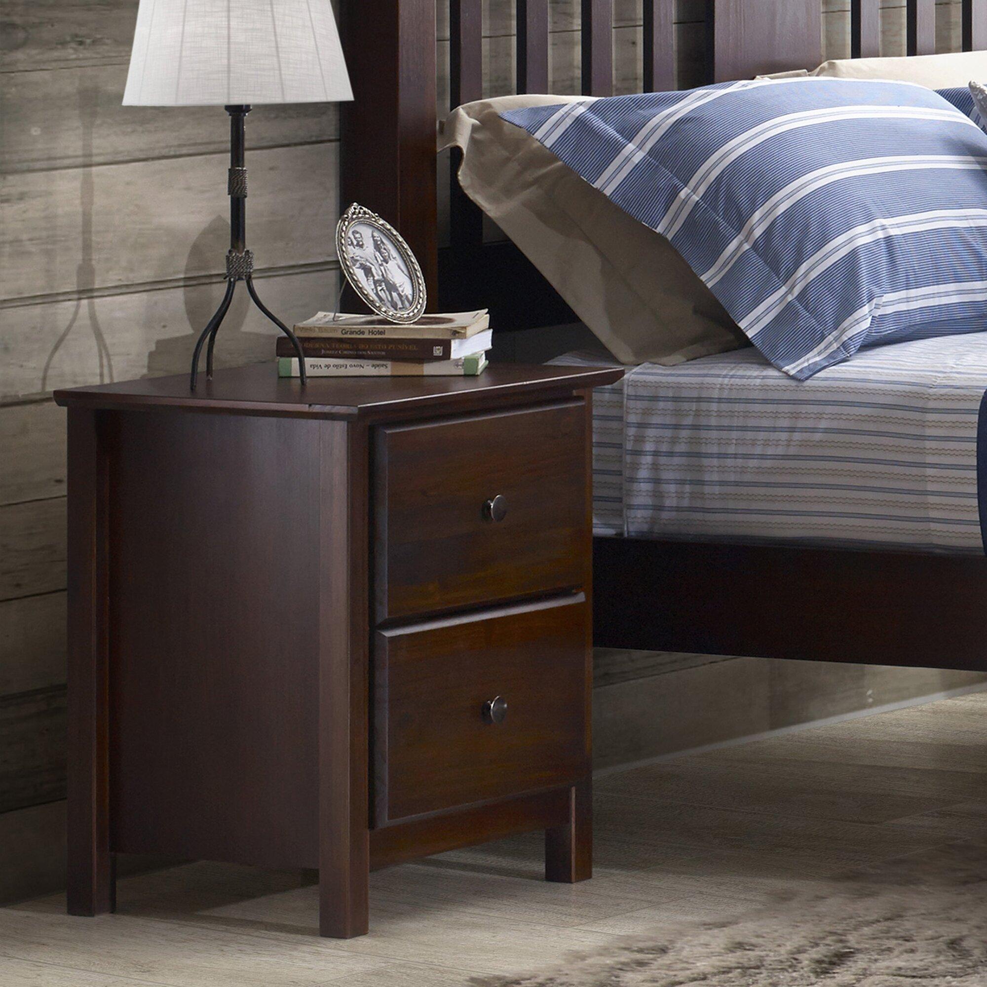 Grain Wood Furniture Shaker  Drawer Nightstand  Reviews Wayfair - Online shaker style bedroom furniture