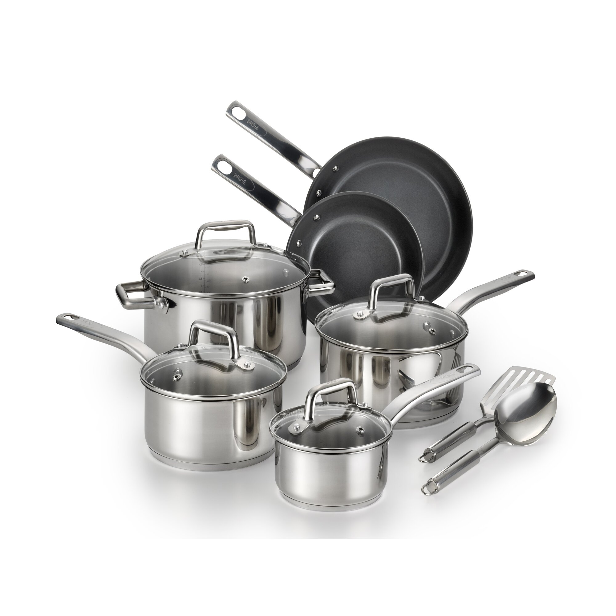 T-fal Precision 12 Piece Cookware Set & Reviews | Wayfair
