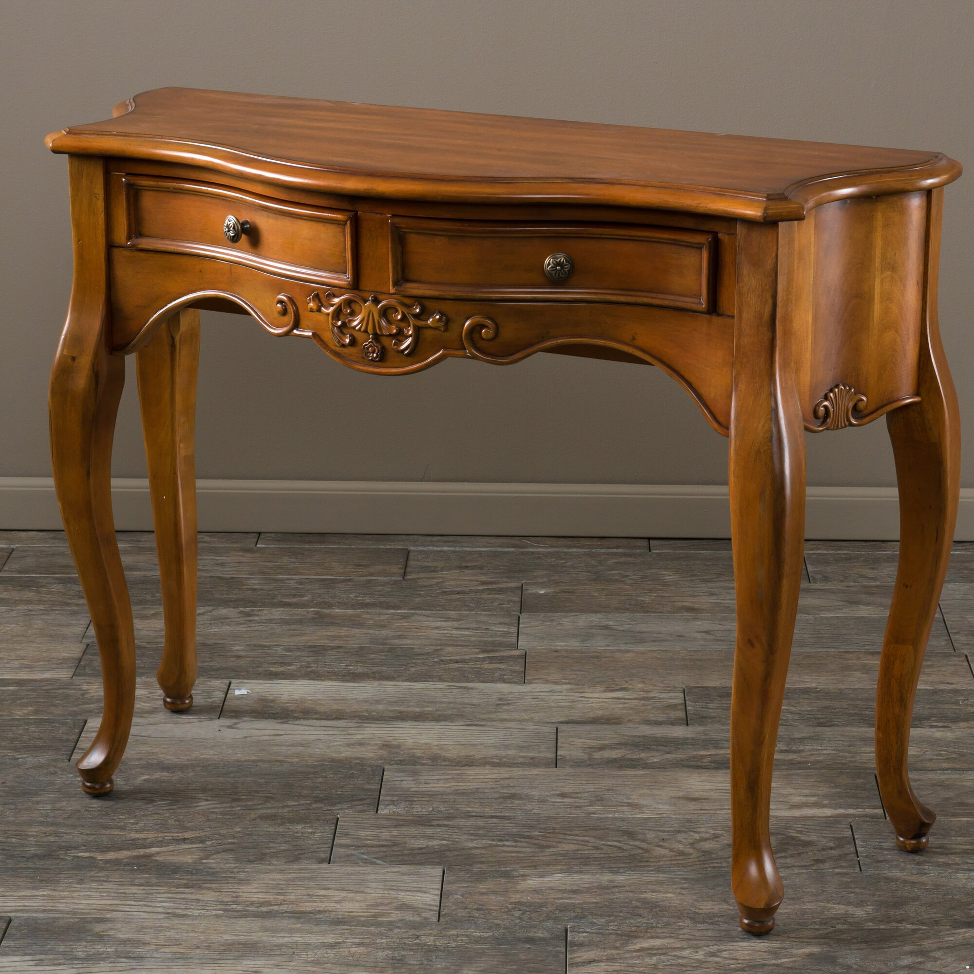 Home Loft Concepts Victorian 2 Drawer Console Table