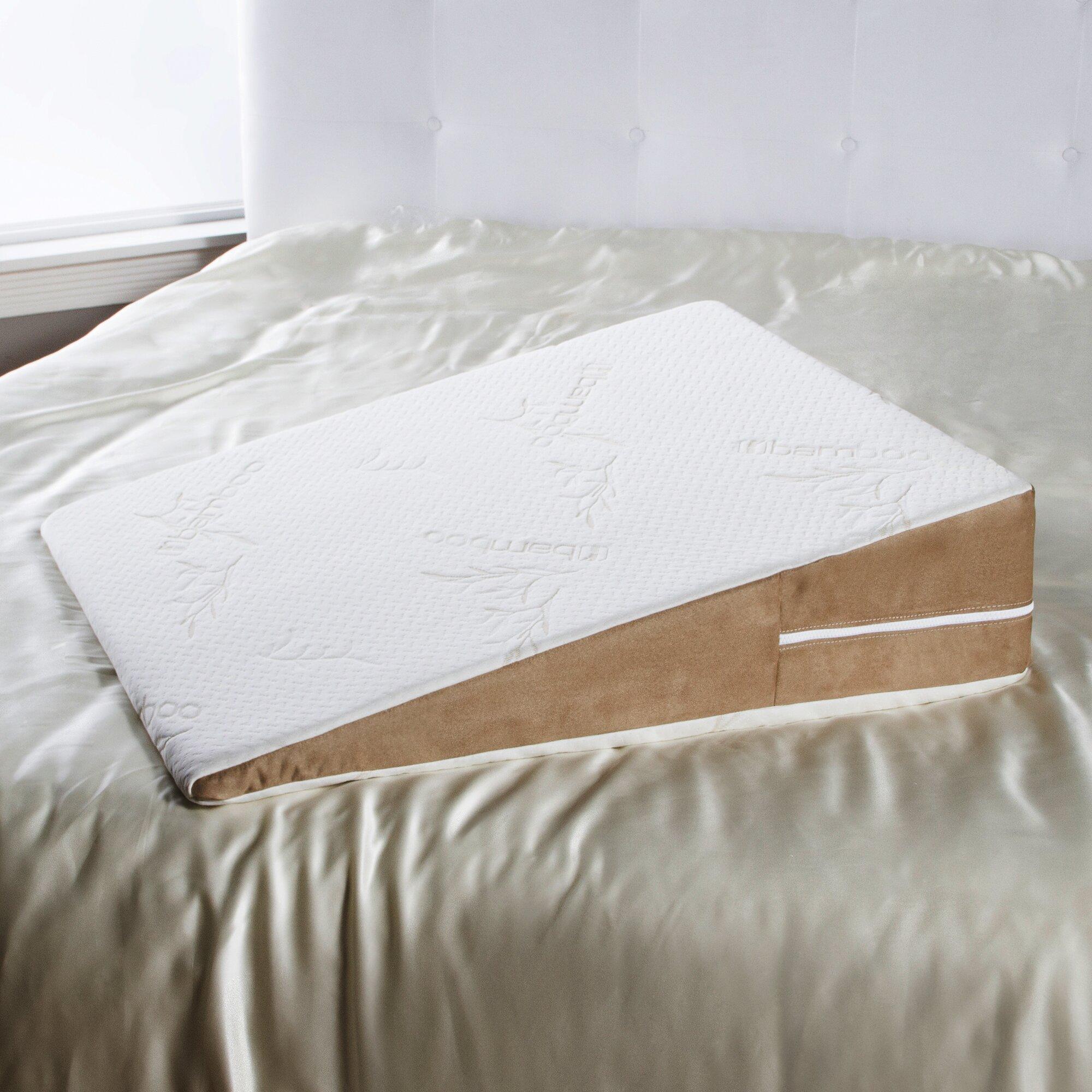 Avana Avana Bed Wedge Memory Foam Pillow Amp Reviews