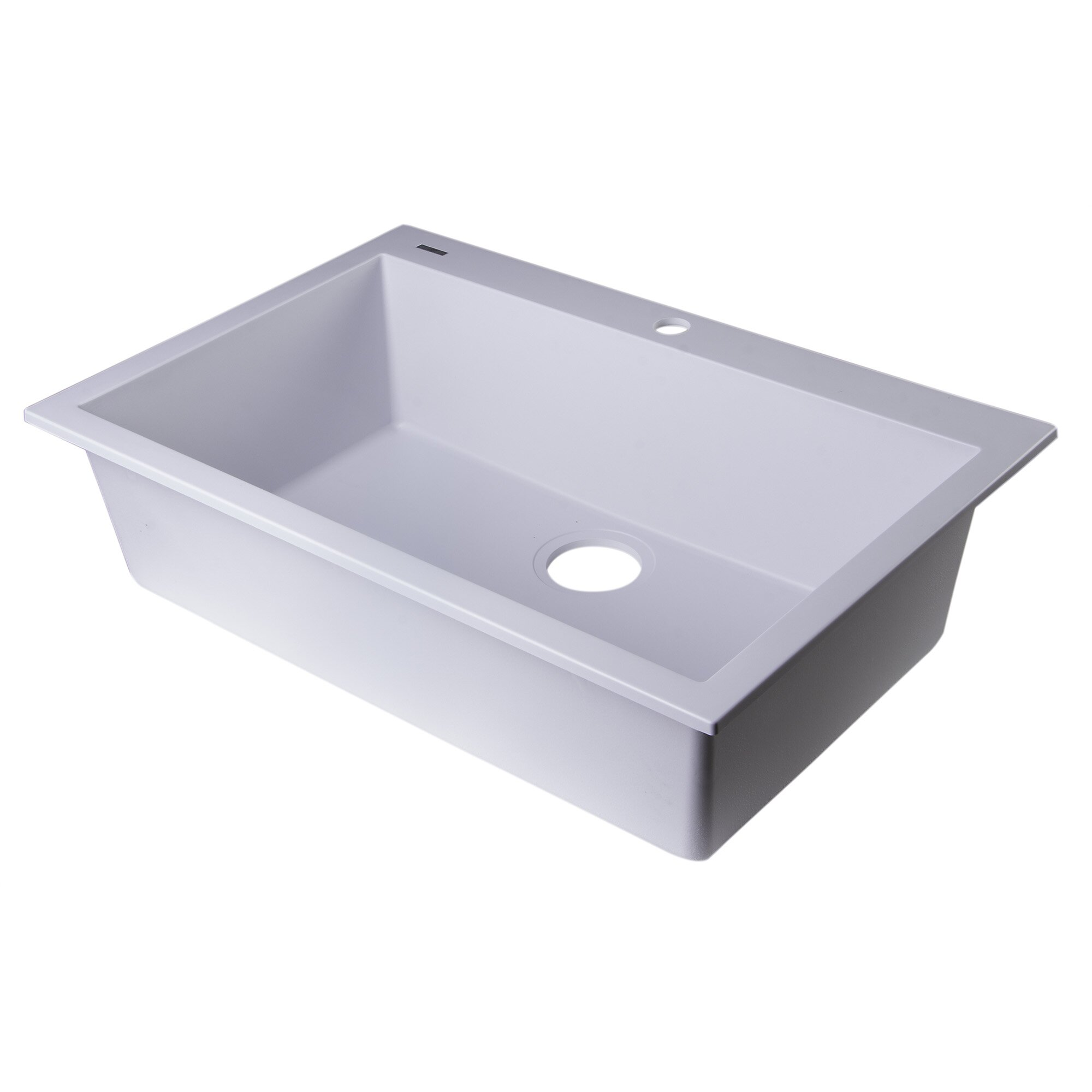 30 x 20 drop in single bowl kitchen sink - Bowl Kitchen Sink