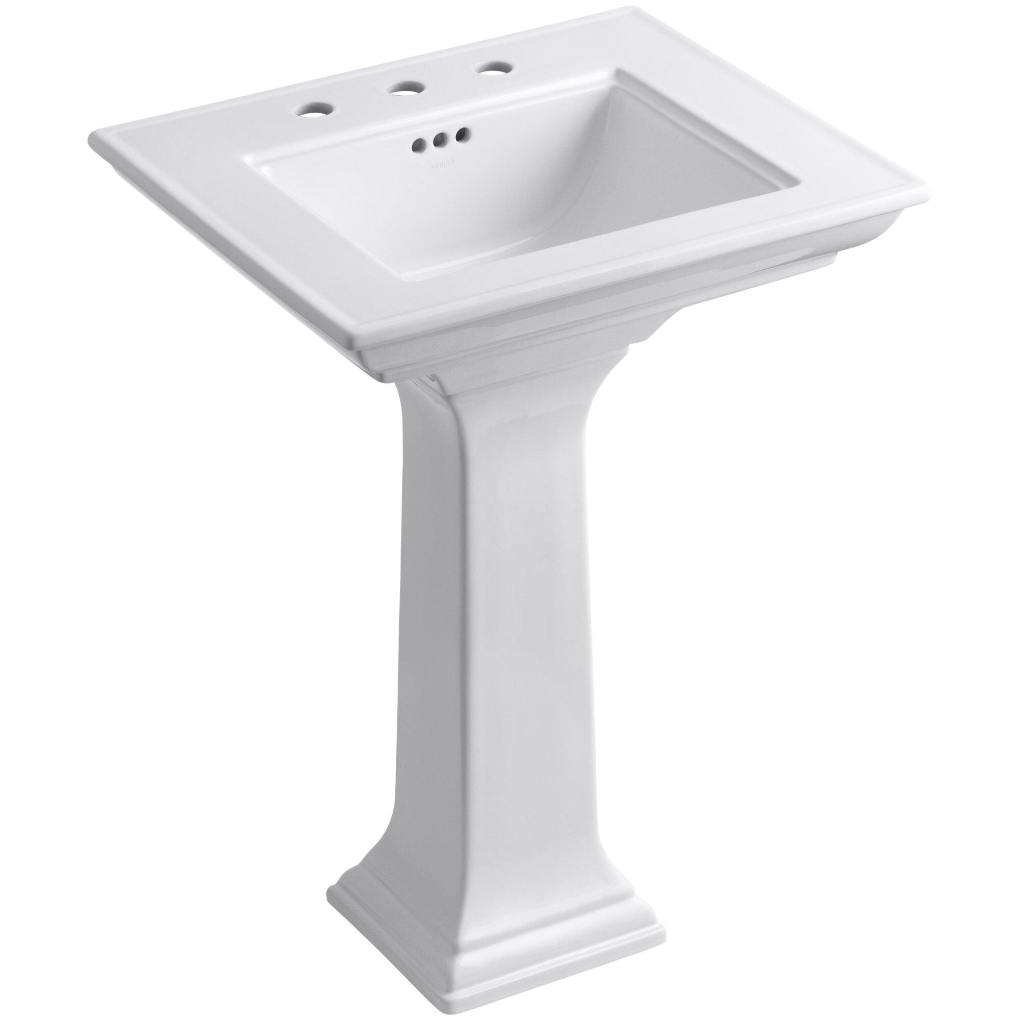 Bathroom sink dimensions mm - Memoirs 24 5 Pedestal Bathroom Sink