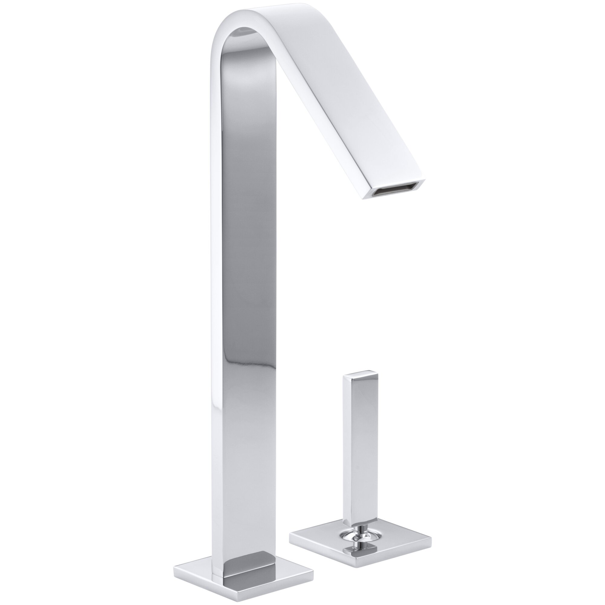 Loure Single Handle Bathroom Sink Faucet
