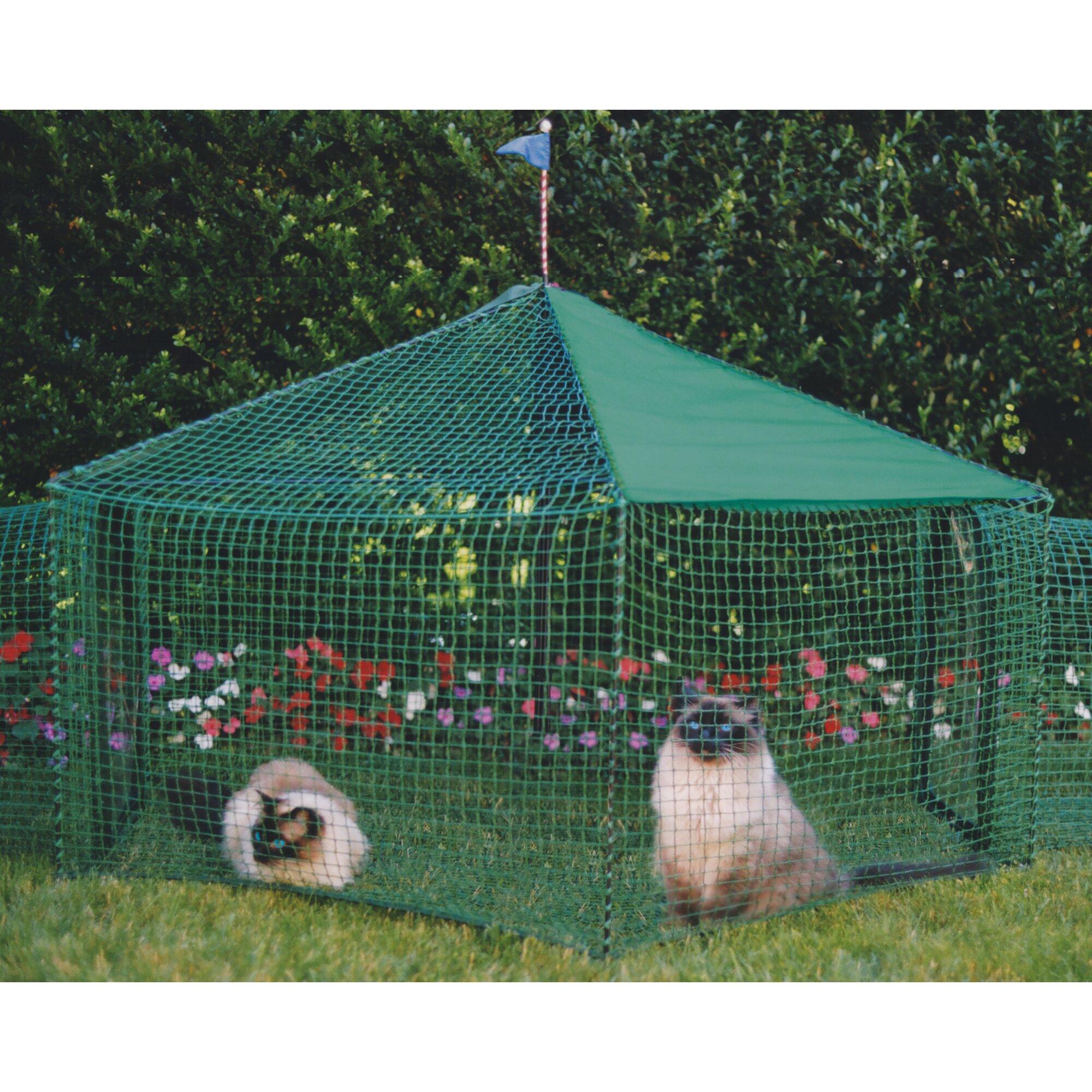Kittywalk Systems Gazebo Outdoor Pet Playpen & Reviews