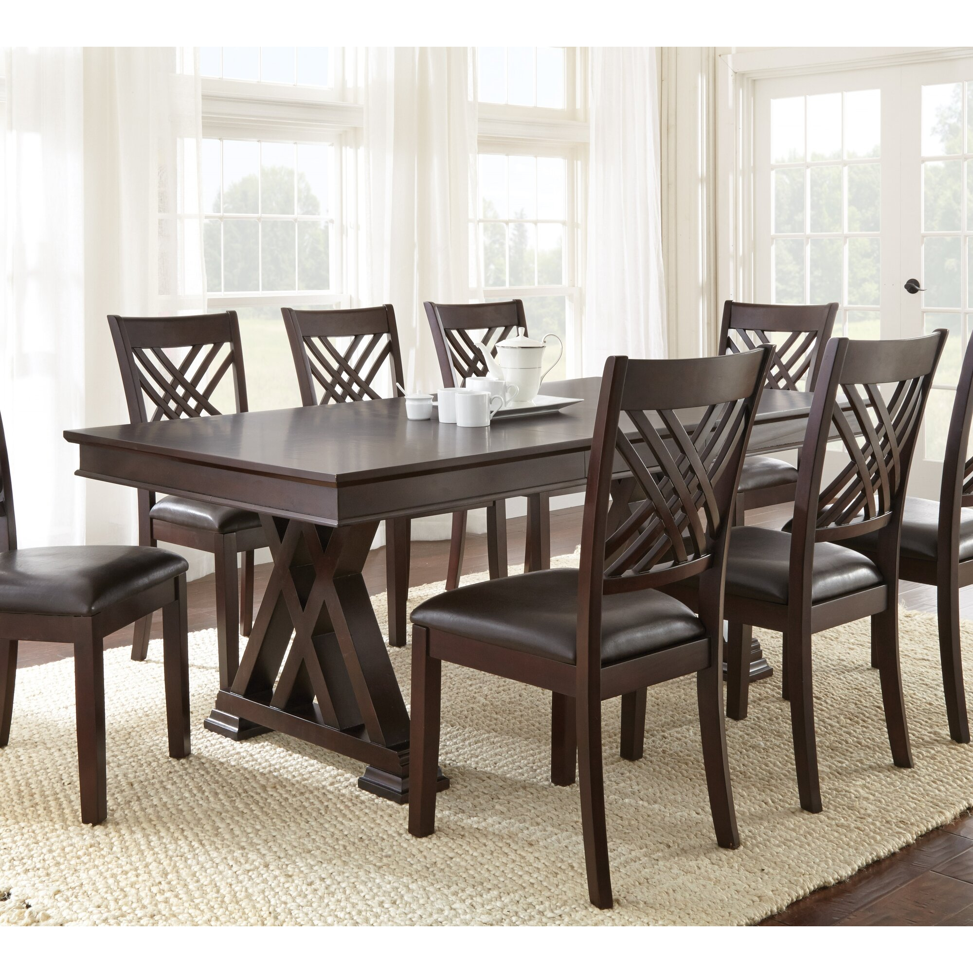 Brayden Studio Adrian Extendable Dining Table & Reviews | Wayfair