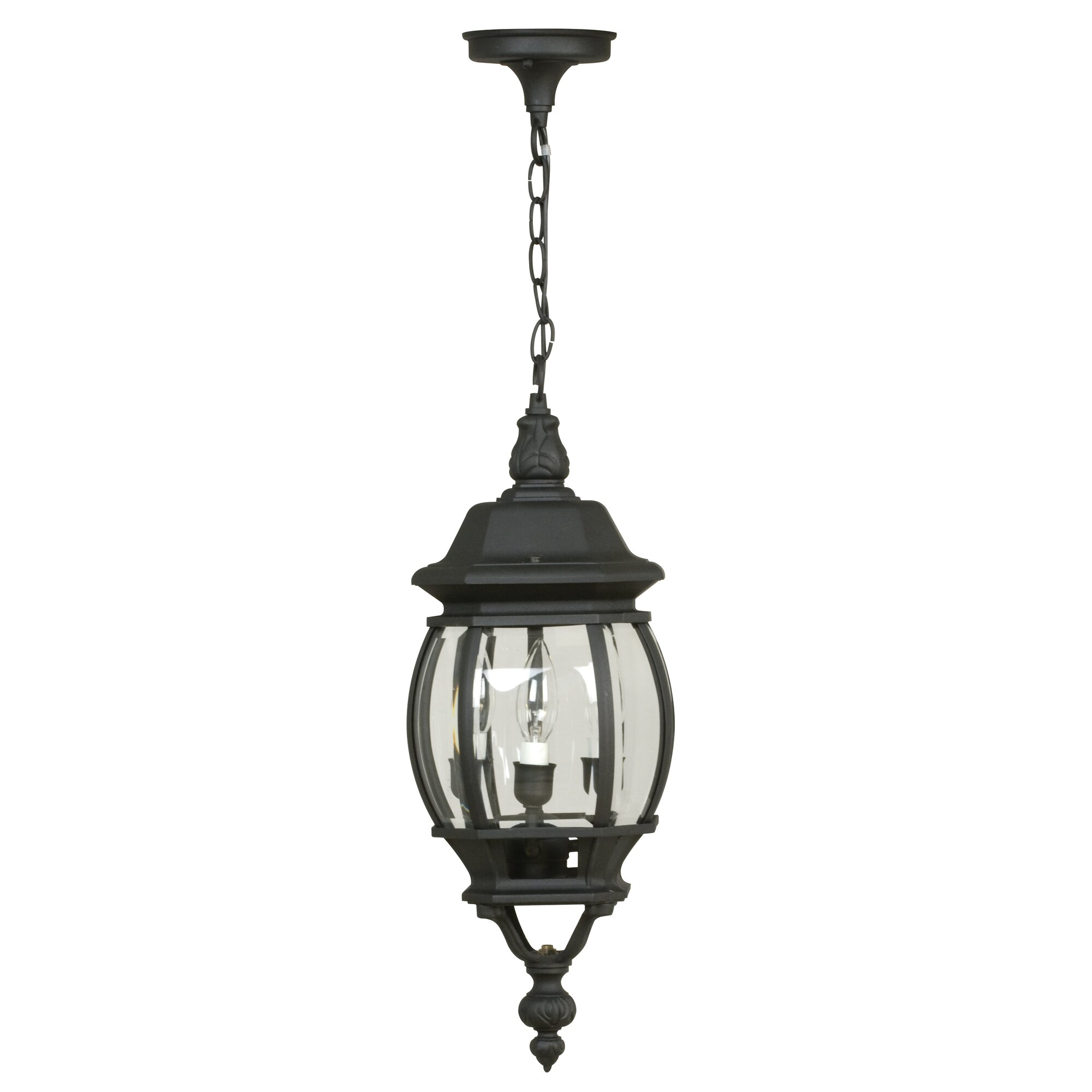 Craftmade french country 3 light outdoor hanging lantern for French country outdoor lighting