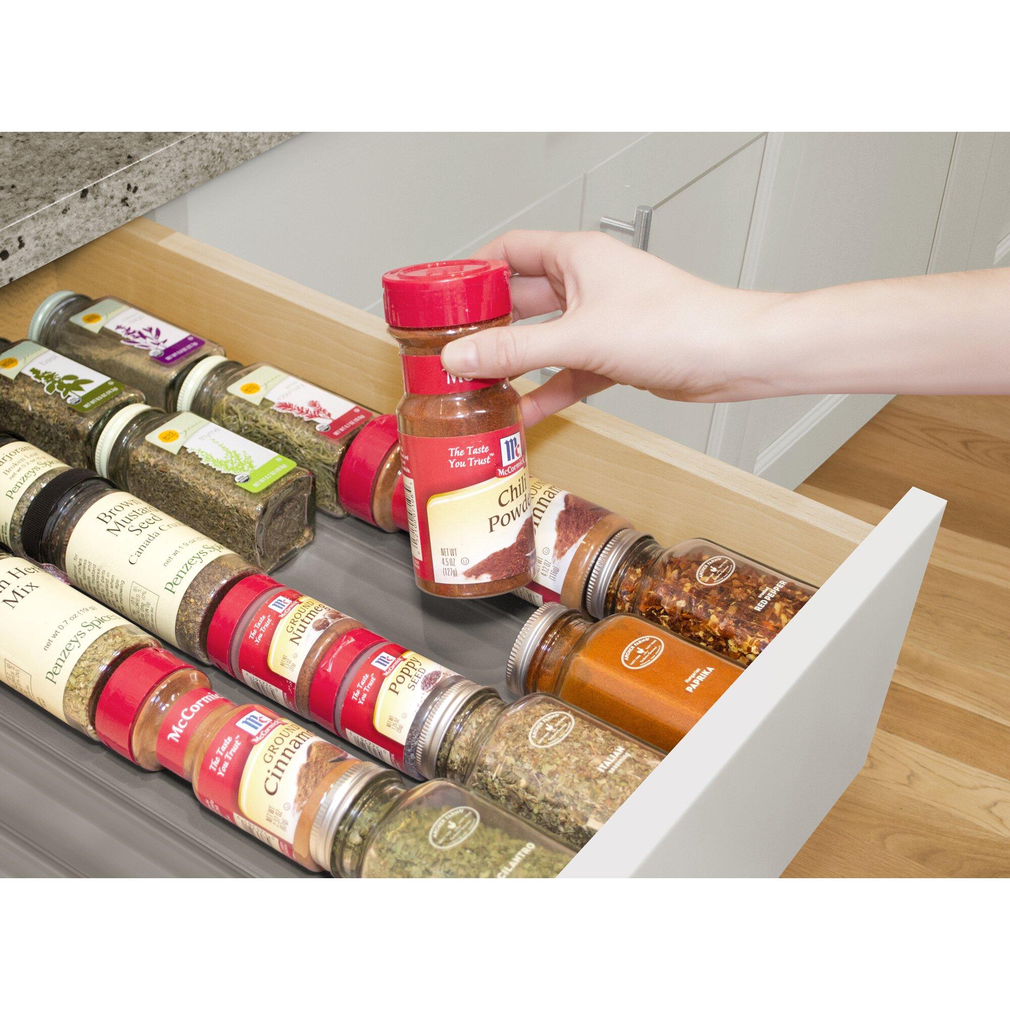 Kitchen drawer inserts for spices - Kitchen Drawer Inserts For Spices Kitchen Spice Drawer Organizer Spice Drawer Organizer