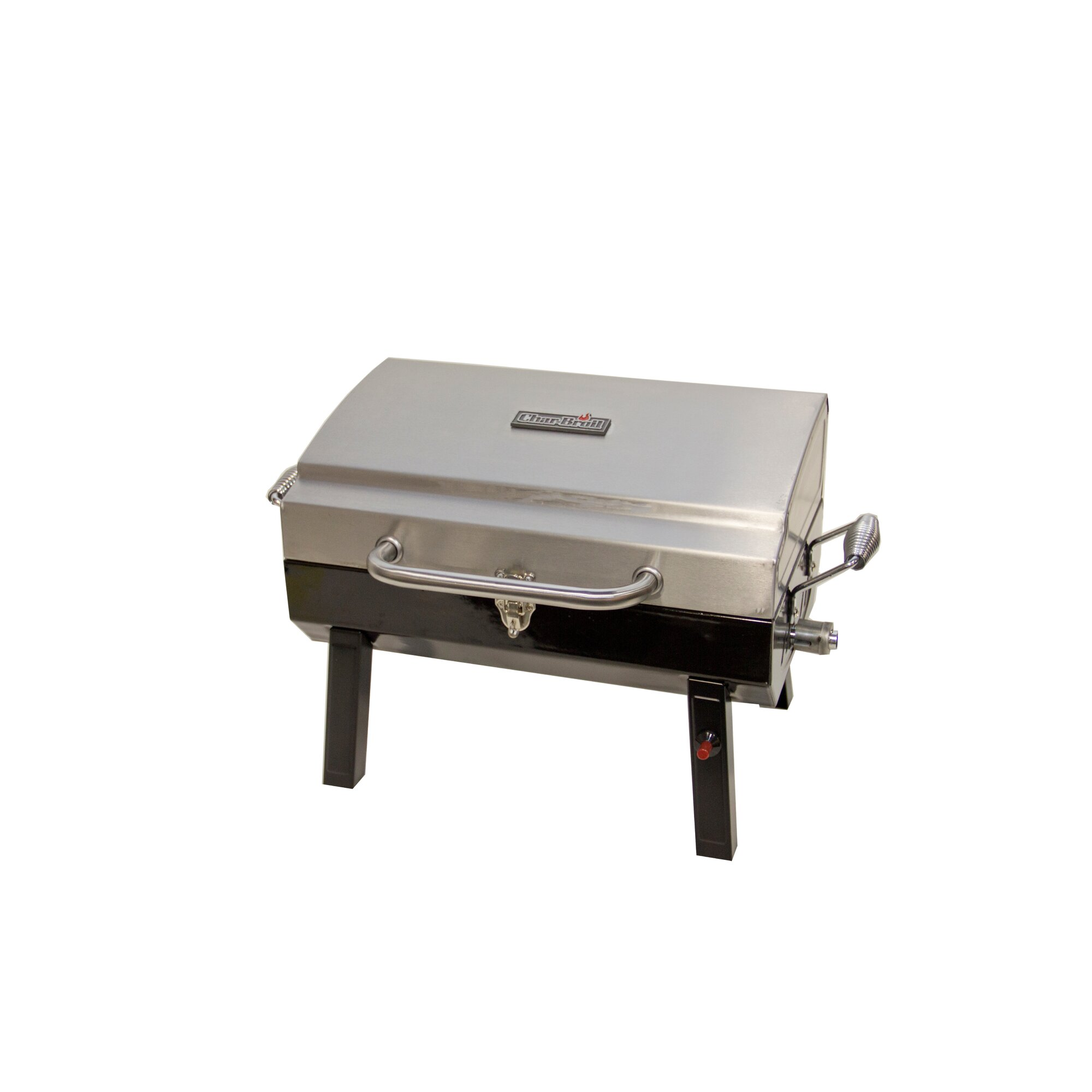 CharBroil Deluxe 1 Burner Portable Propane Gas Grill & Reviews ...