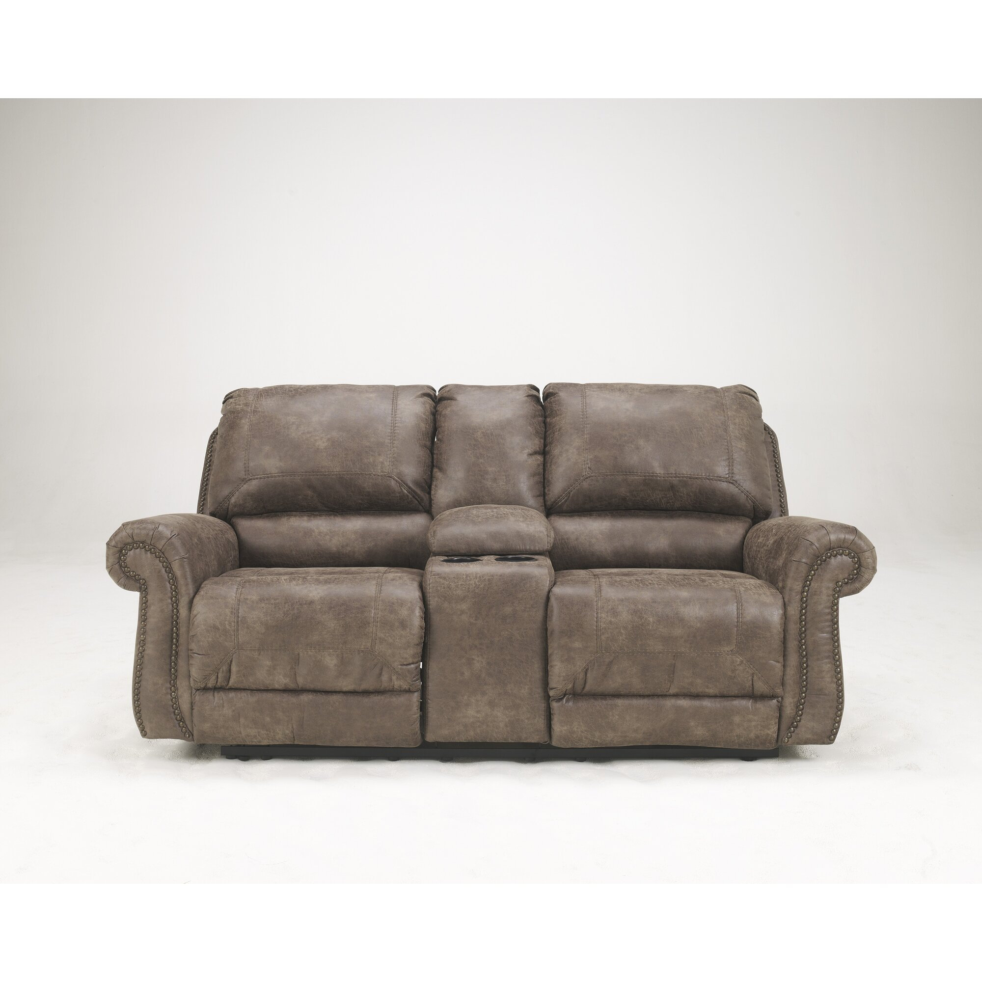 Signature Design By Ashley Evansville Reclining Sofa Reviews   Evansville  Furniture