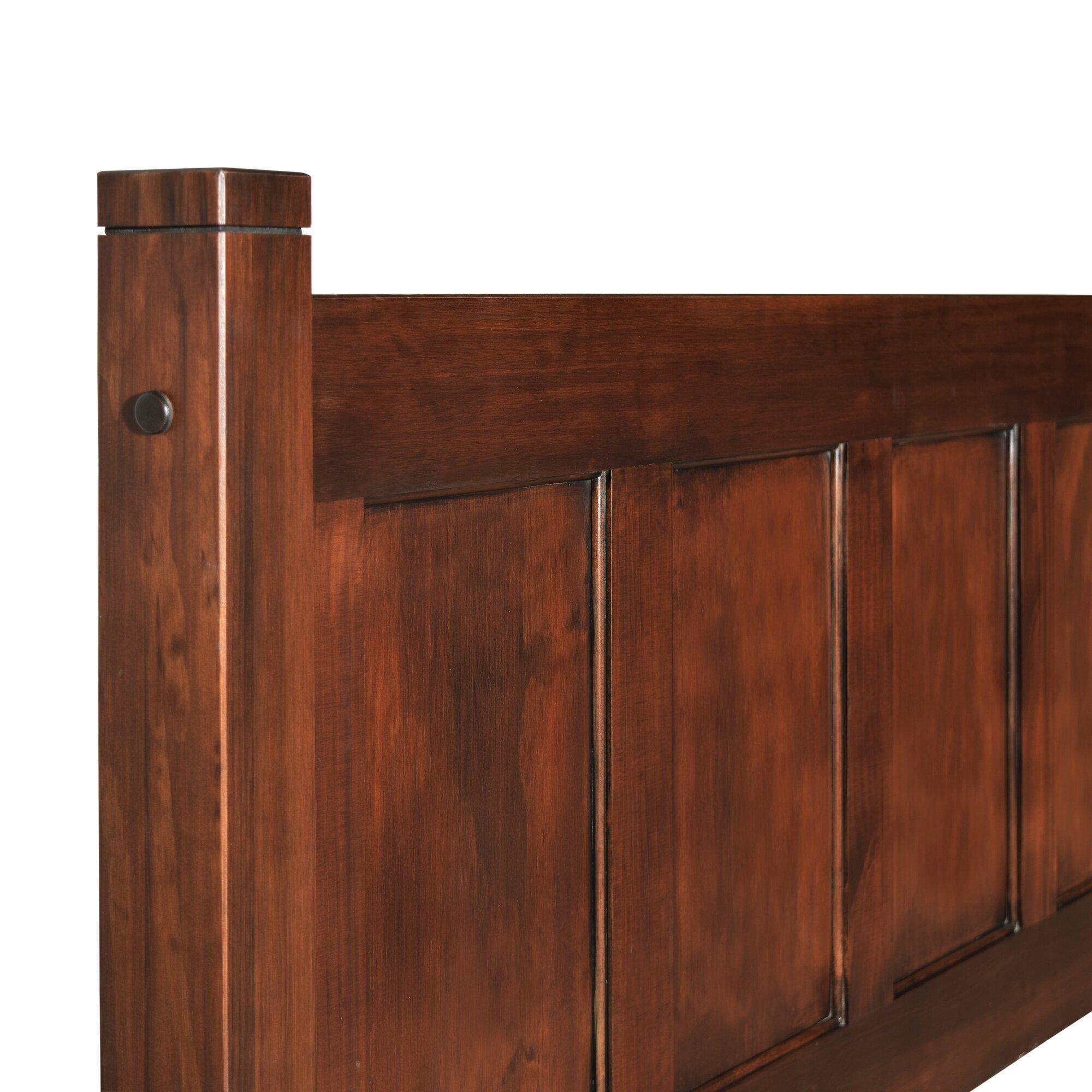 Grain Wood Furniture Shaker Platform Bed  Reviews Wayfair - Online shaker style bedroom furniture