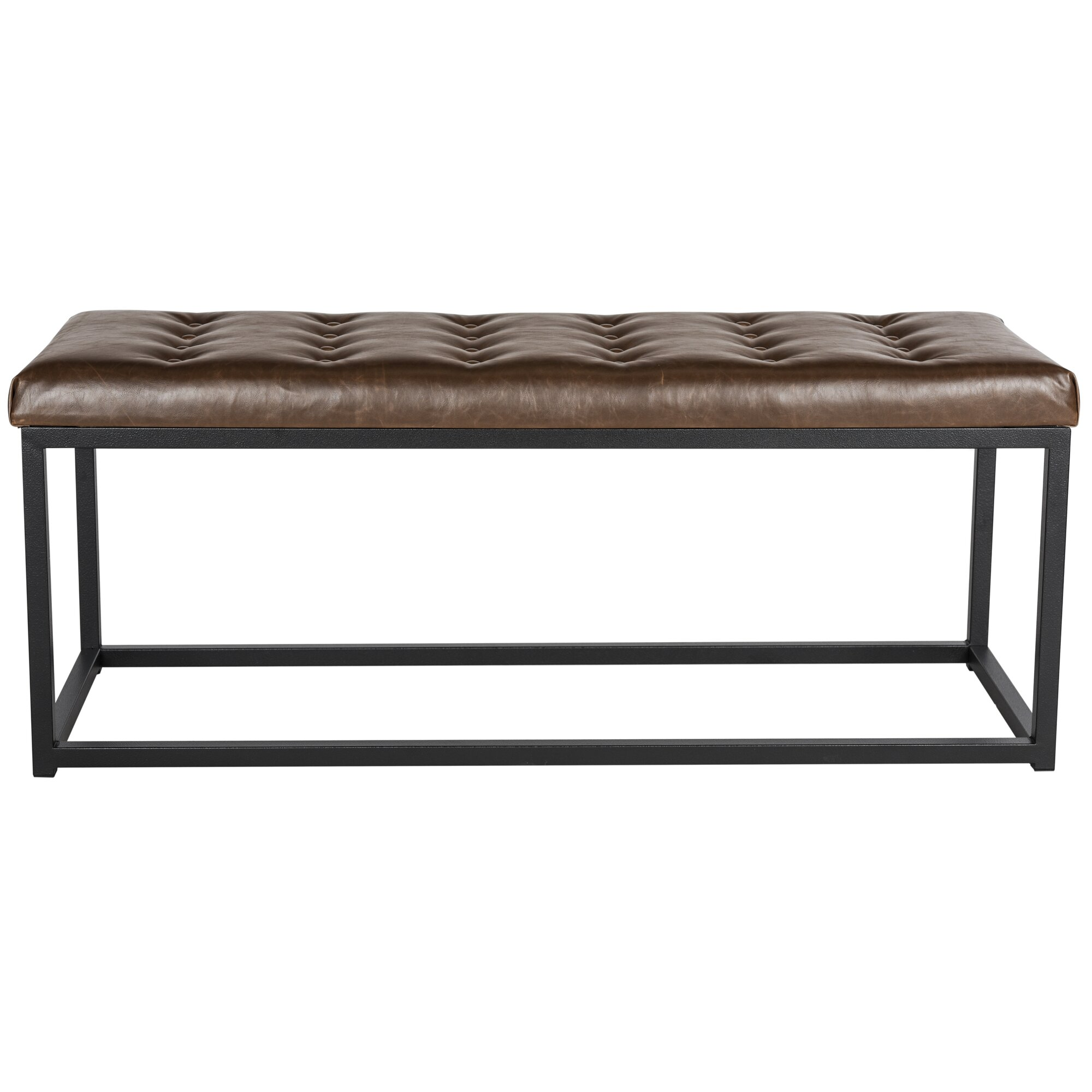 Bedroom bench with arms - Marinda Bedroom Bench