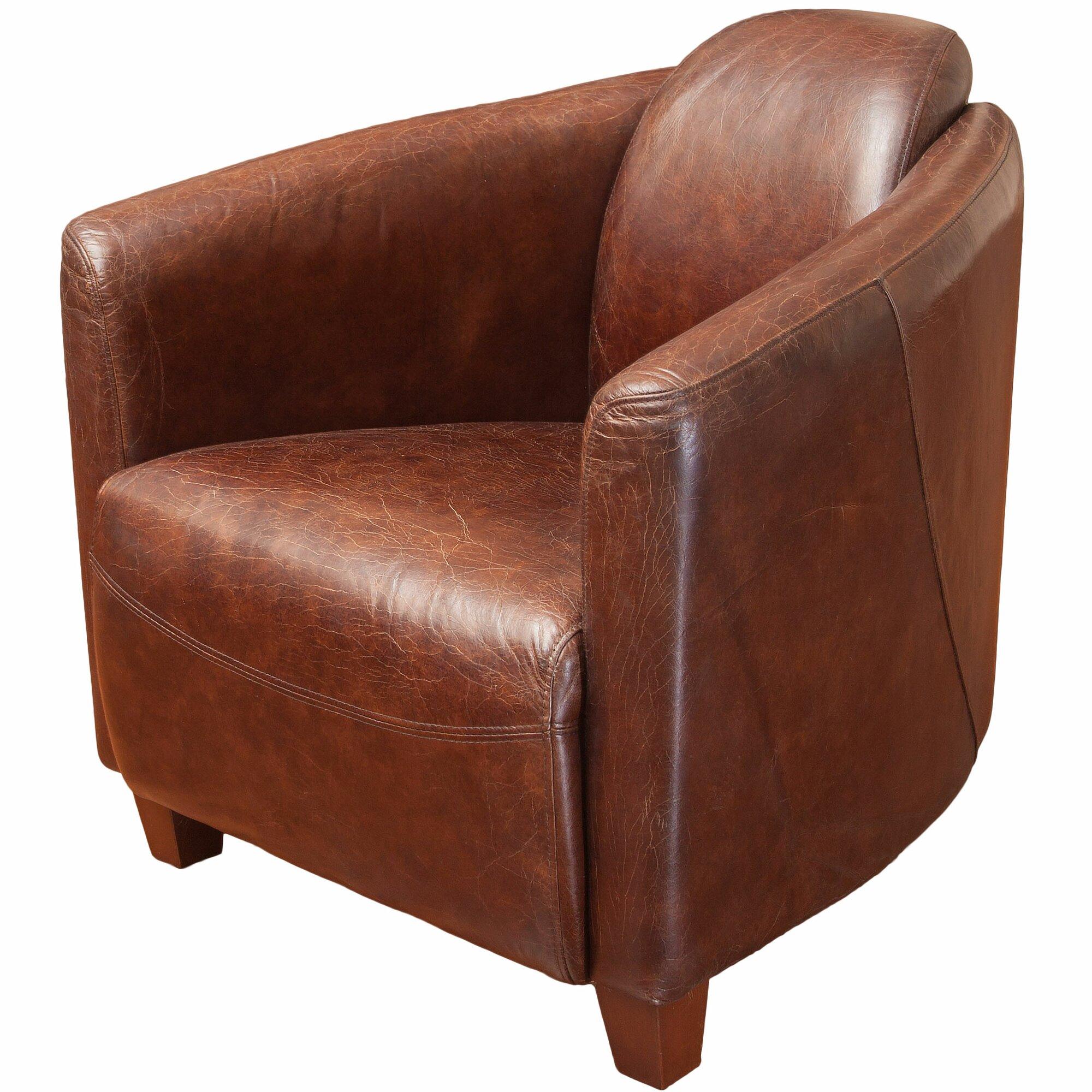 Leather Cigar Chair Instachair