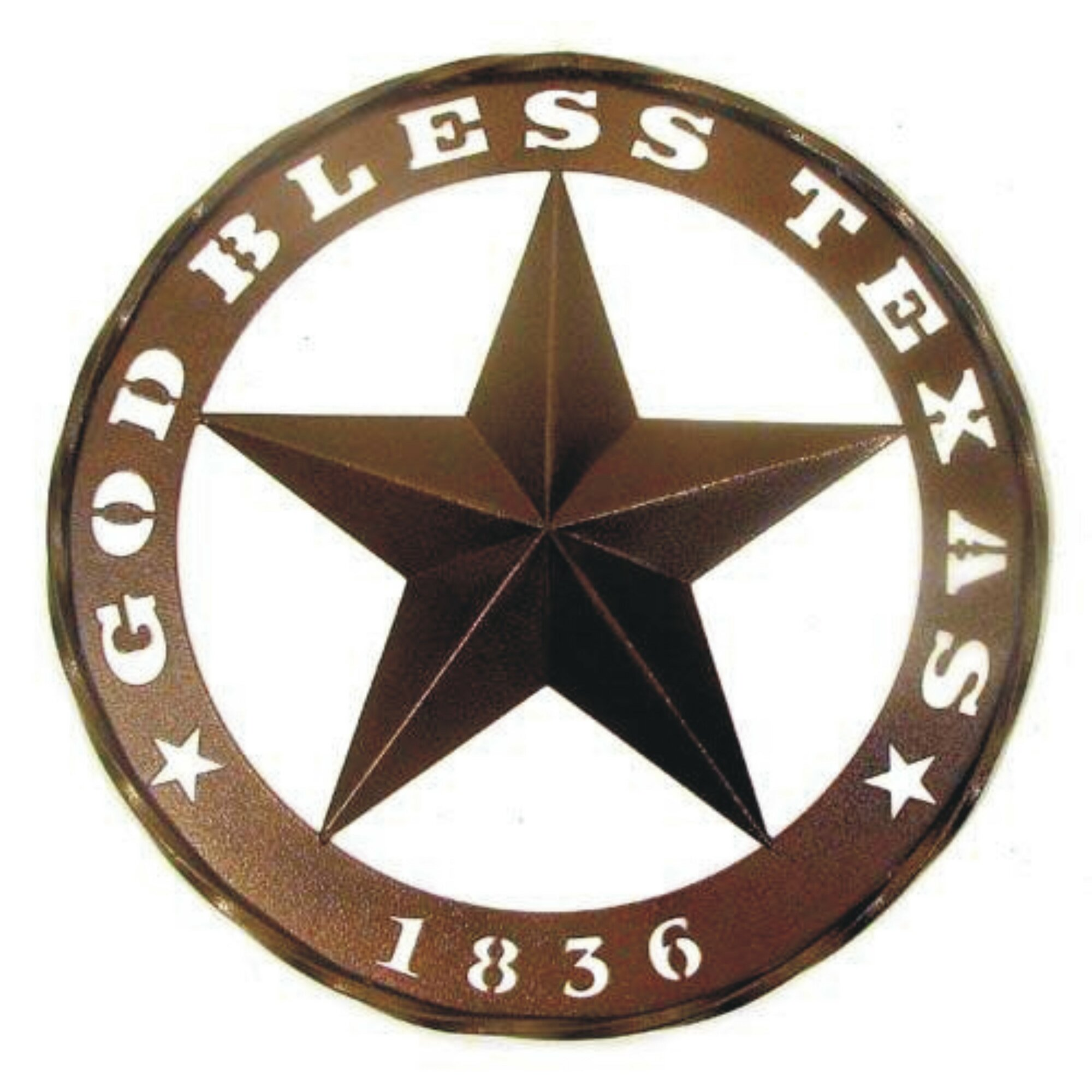 god bless texas and 1836 star wall dcor - Star Wall Decor