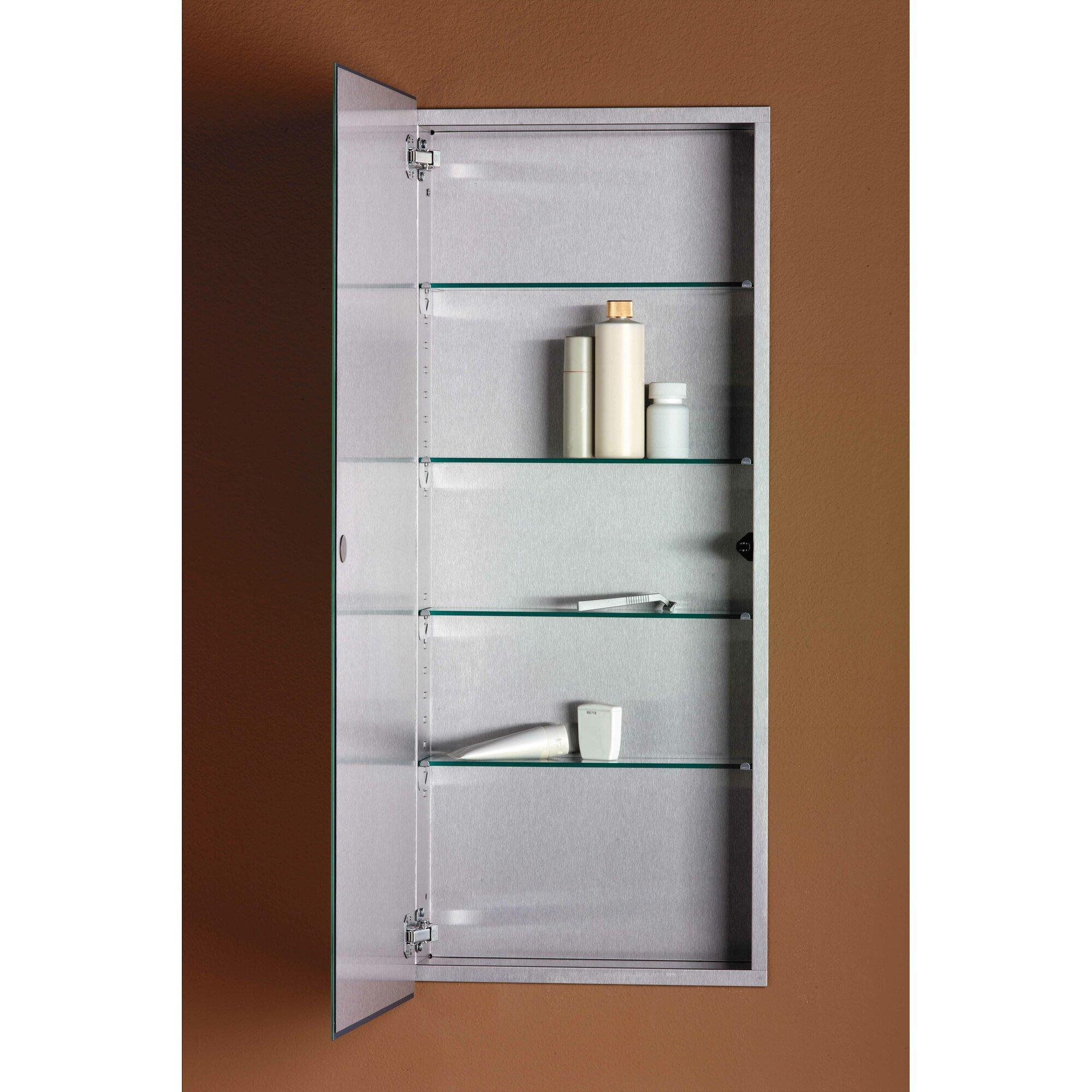 Bathroom medicine cabinets recessed - 15 X 36 Recessed Medicine Cabinet