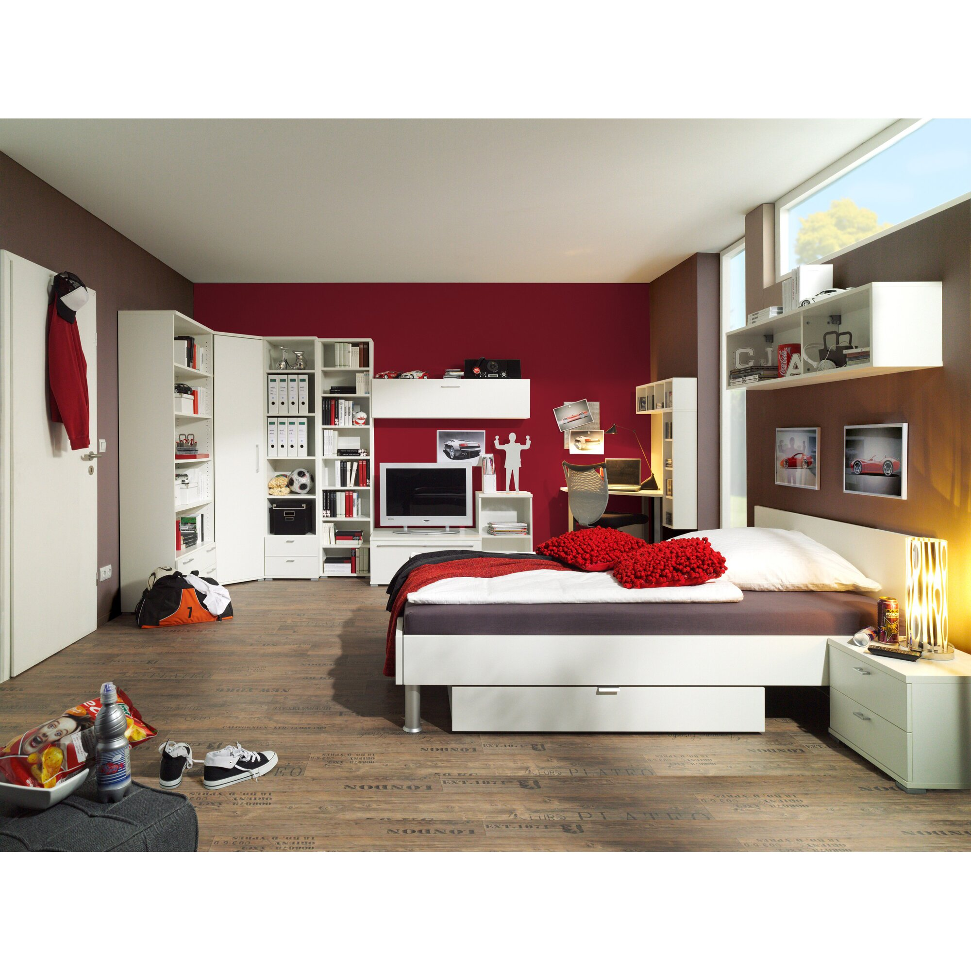 cs schmal 199 cm b cherregal rio art bewertungen. Black Bedroom Furniture Sets. Home Design Ideas