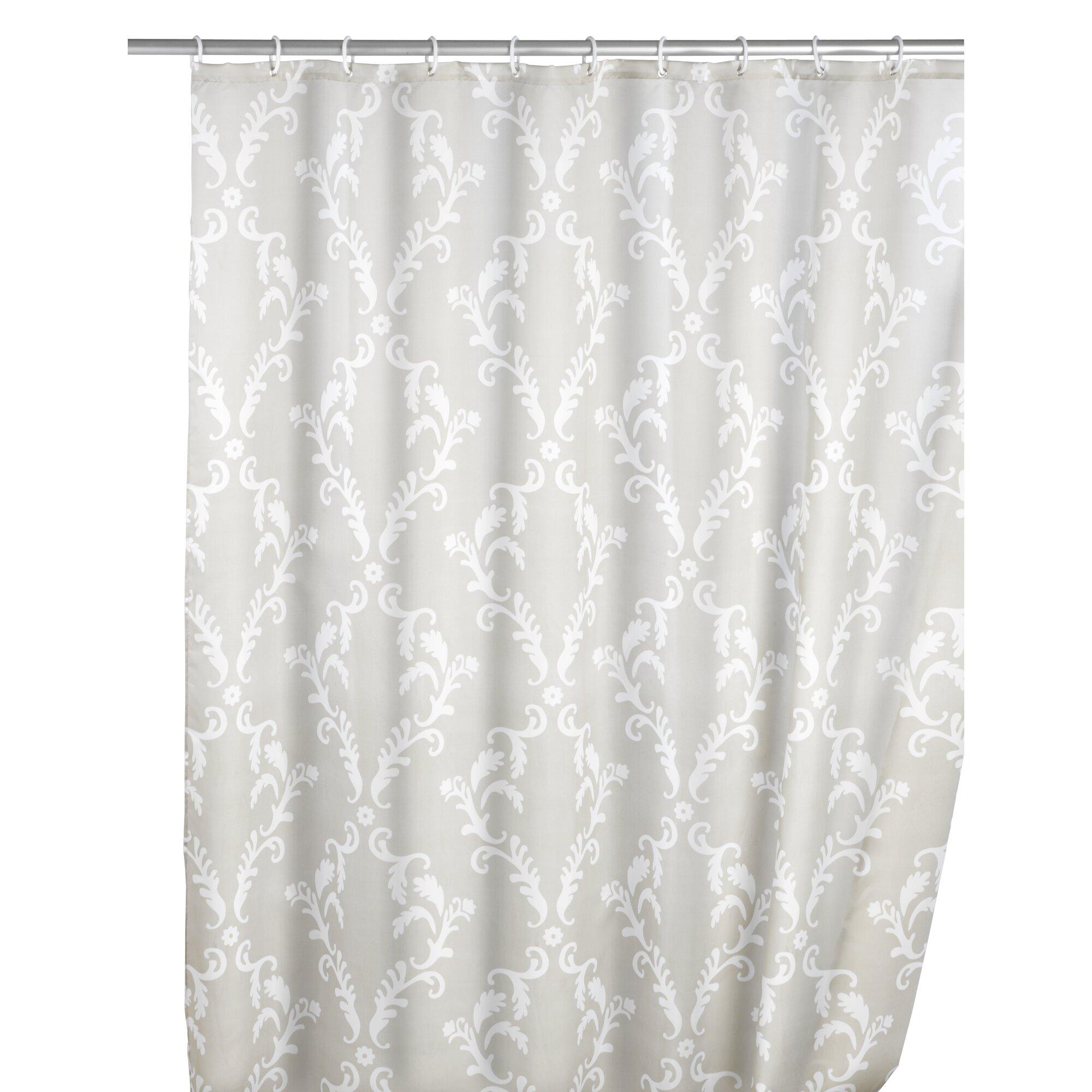 Nautica palmetto bay stripe shower curtain from beddingstyle com - Wenko Fl Anti Mould Shower Curtain Reviews Wayfair Co Uk