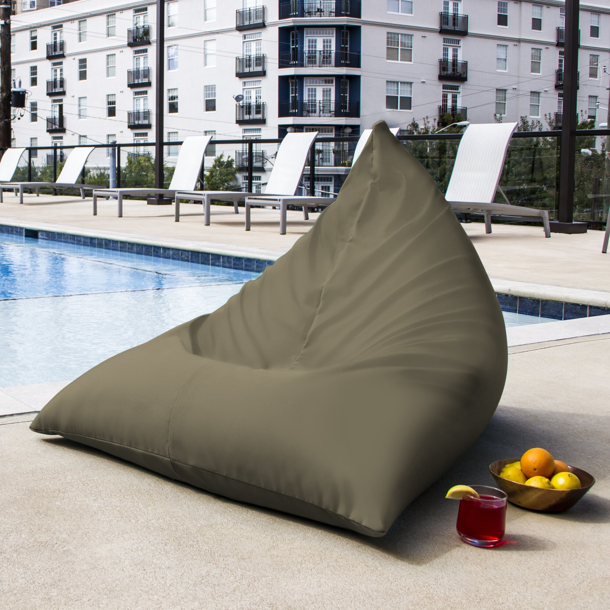 outdoor bean bag jaxx ponce outdoor bean bag lounge