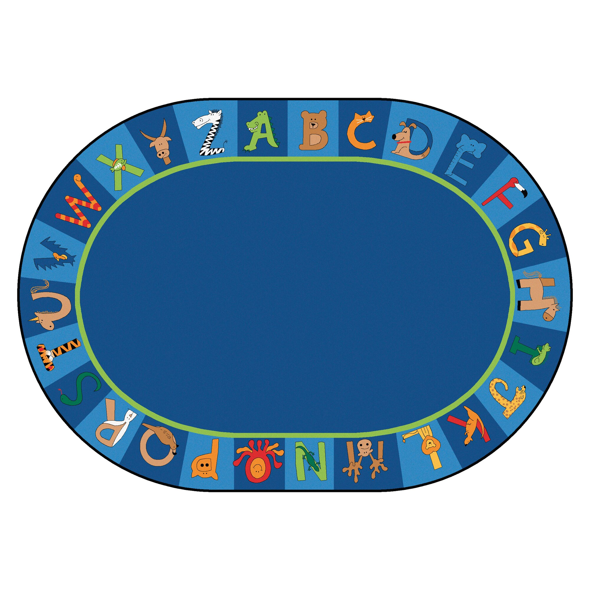 Wholesale Classroom Rugs: Carpets For Kids Printed A To Z Animal Area Rug & Reviews