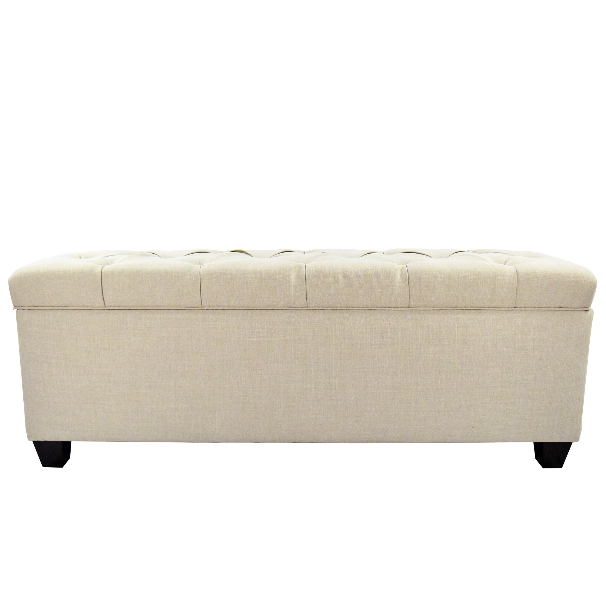 Bedroom benches with storage - Fabric Storage Bedroom Bench