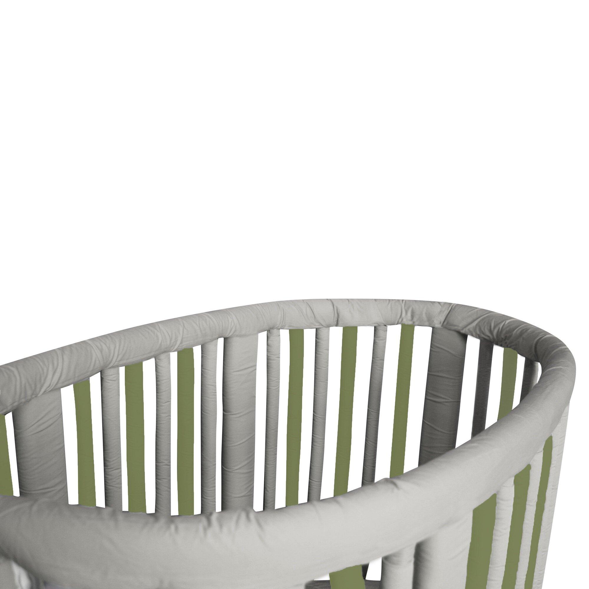 Crib rail for sale - Stokke Crib Rail Guard Cover