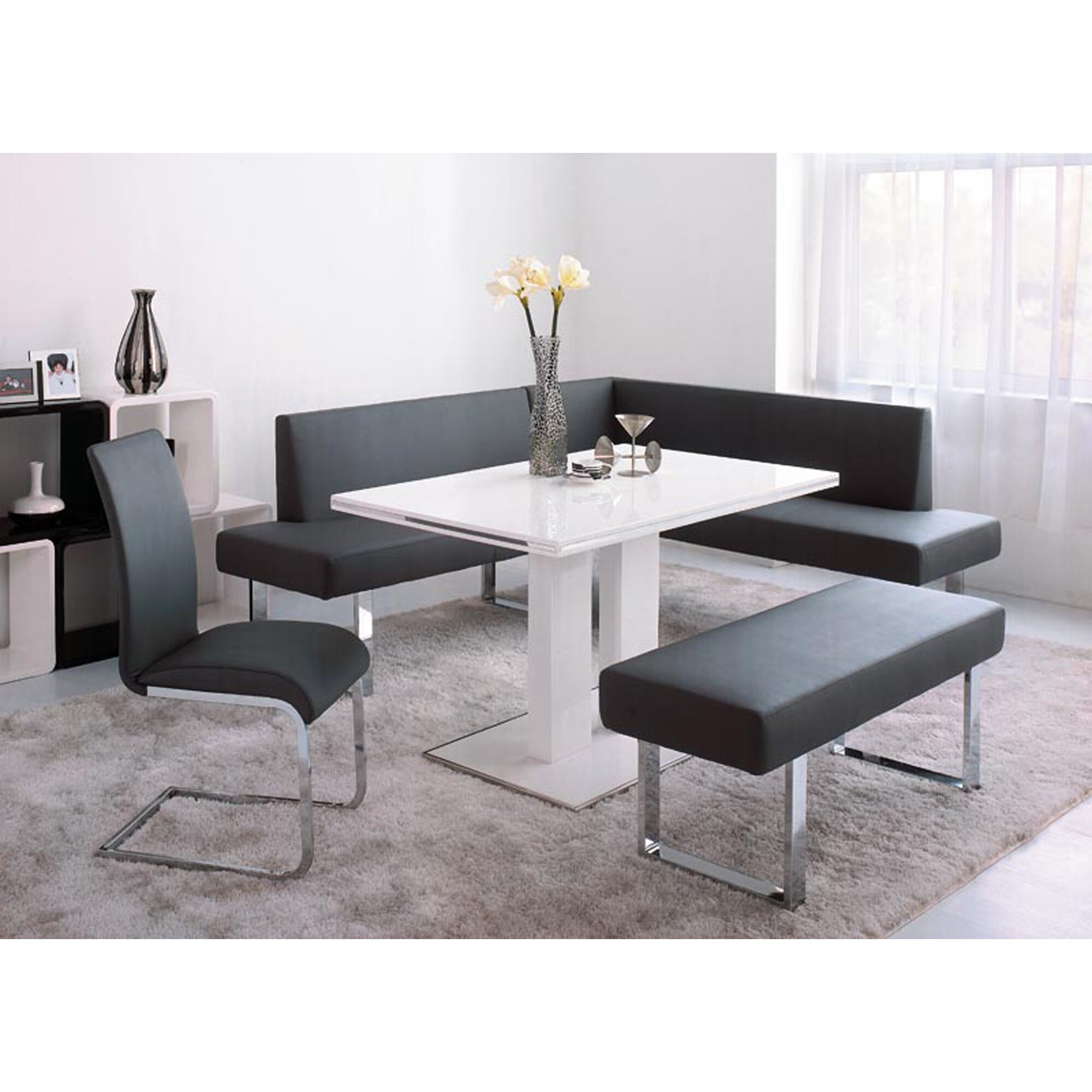 Wade Logan Robb 4 Piece Dining Set & Reviews | Wayfair