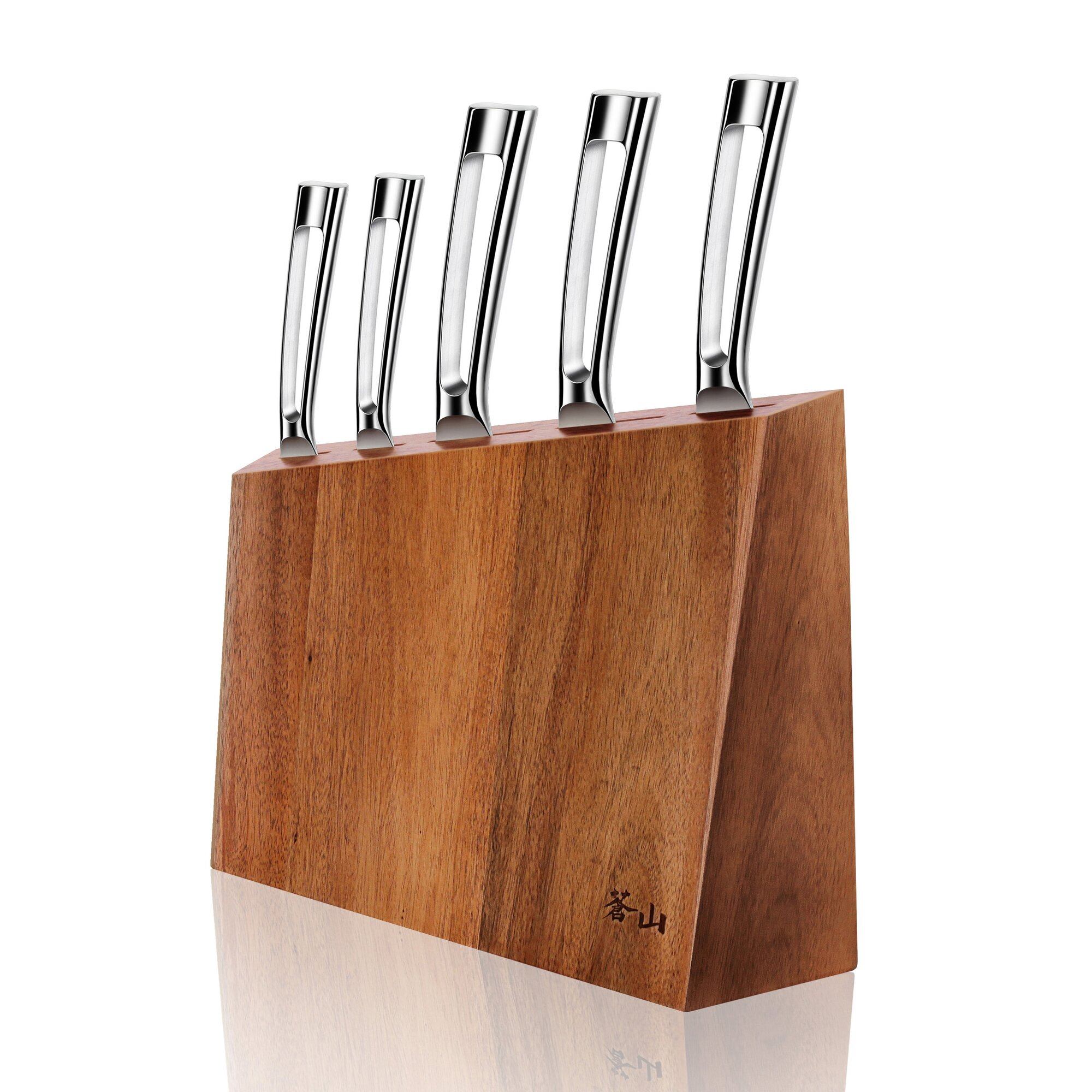 Shun Kanso Knife Block Set 6 Piece Chef S Corner