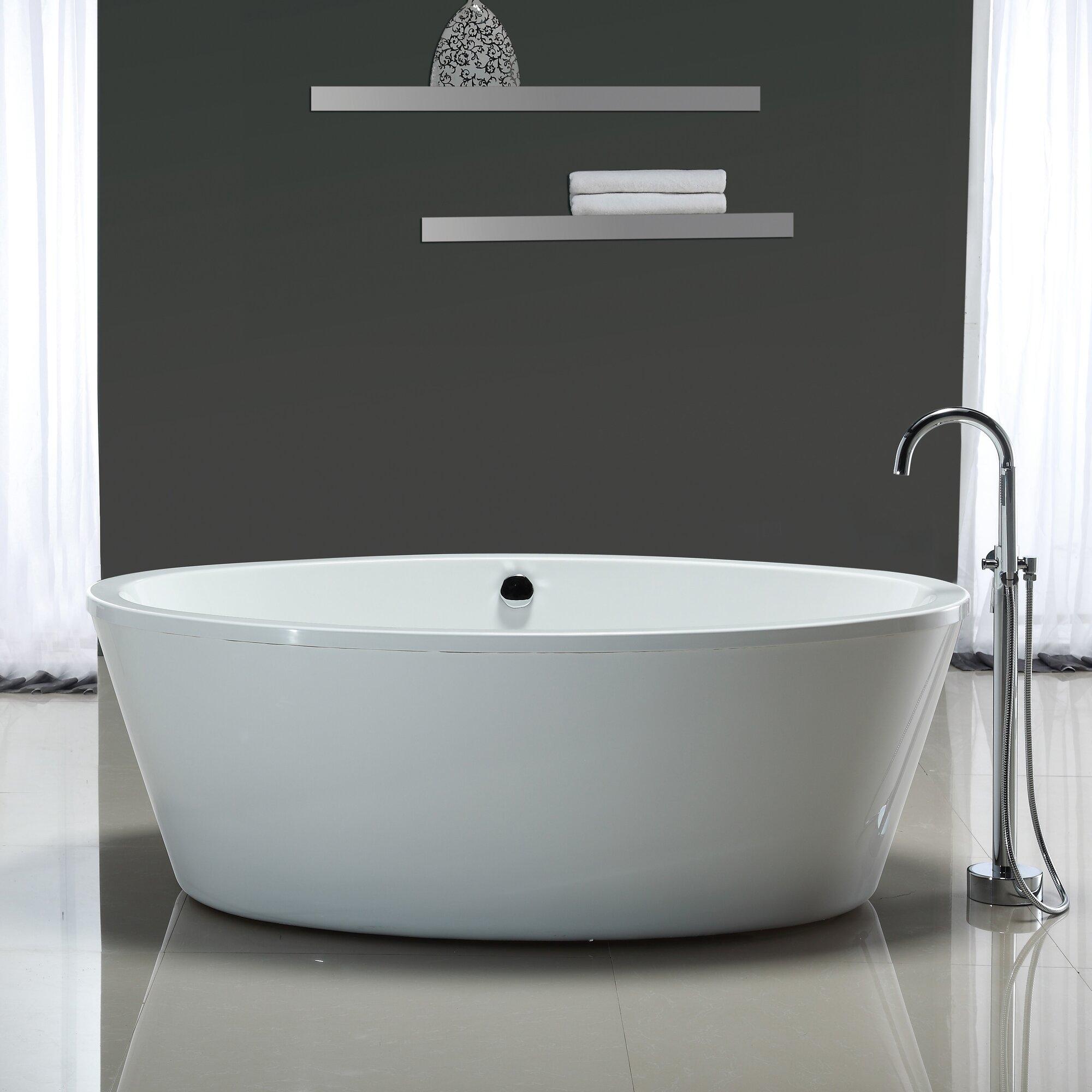 marilyn 67 x 43 soaking bathtub - Ove Decors
