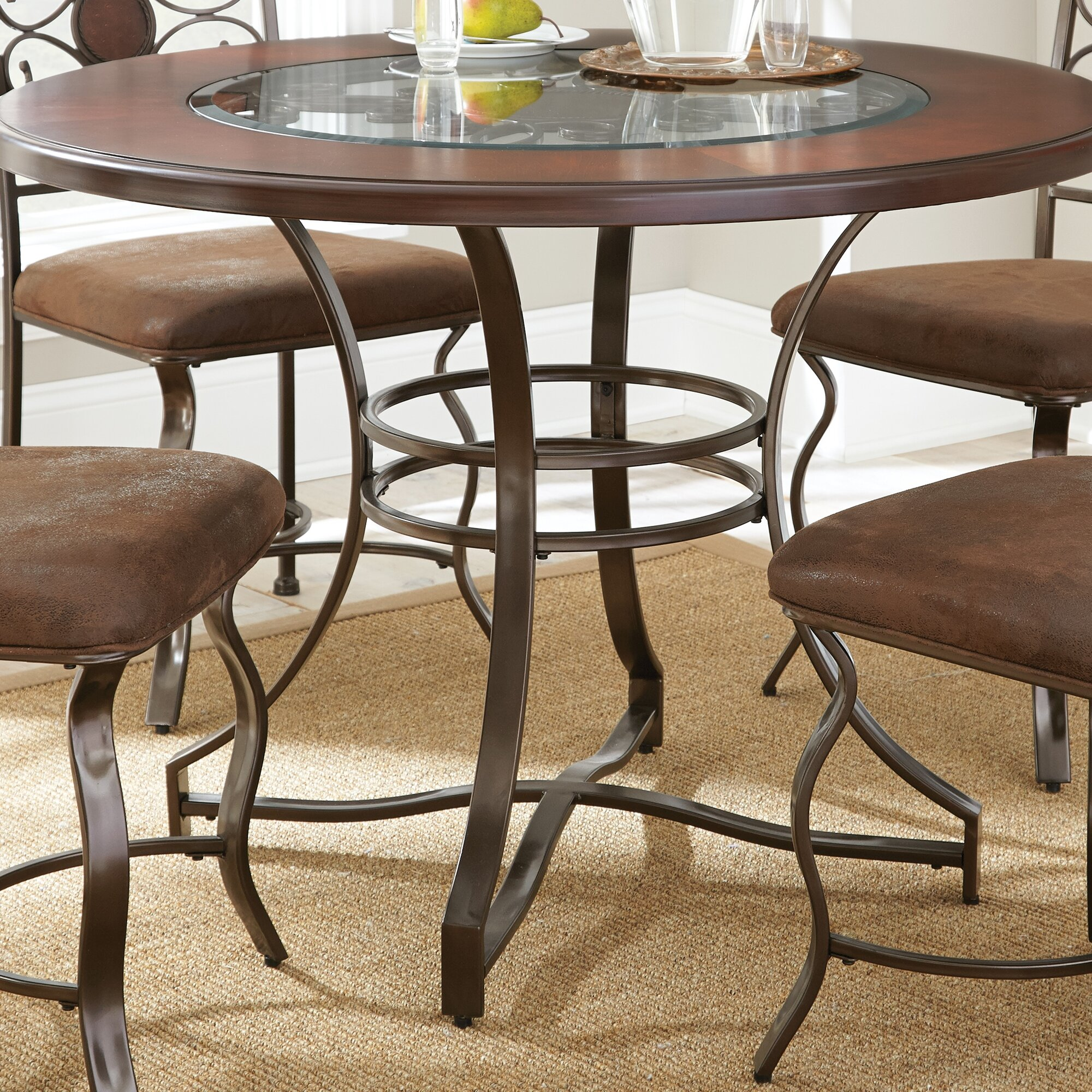 Wrought Iron Kitchen & Dining Tables You\'ll Love   Wayfair