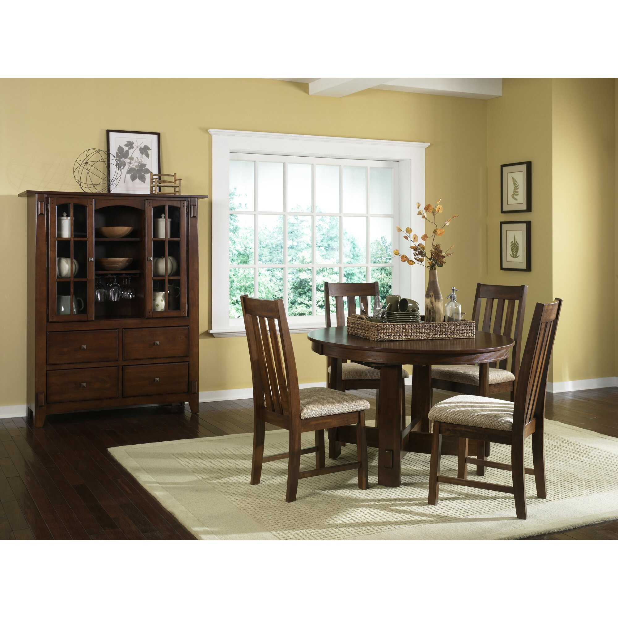 Loon Peak Riverbend Casual Dining Table & Reviews | Wayfair