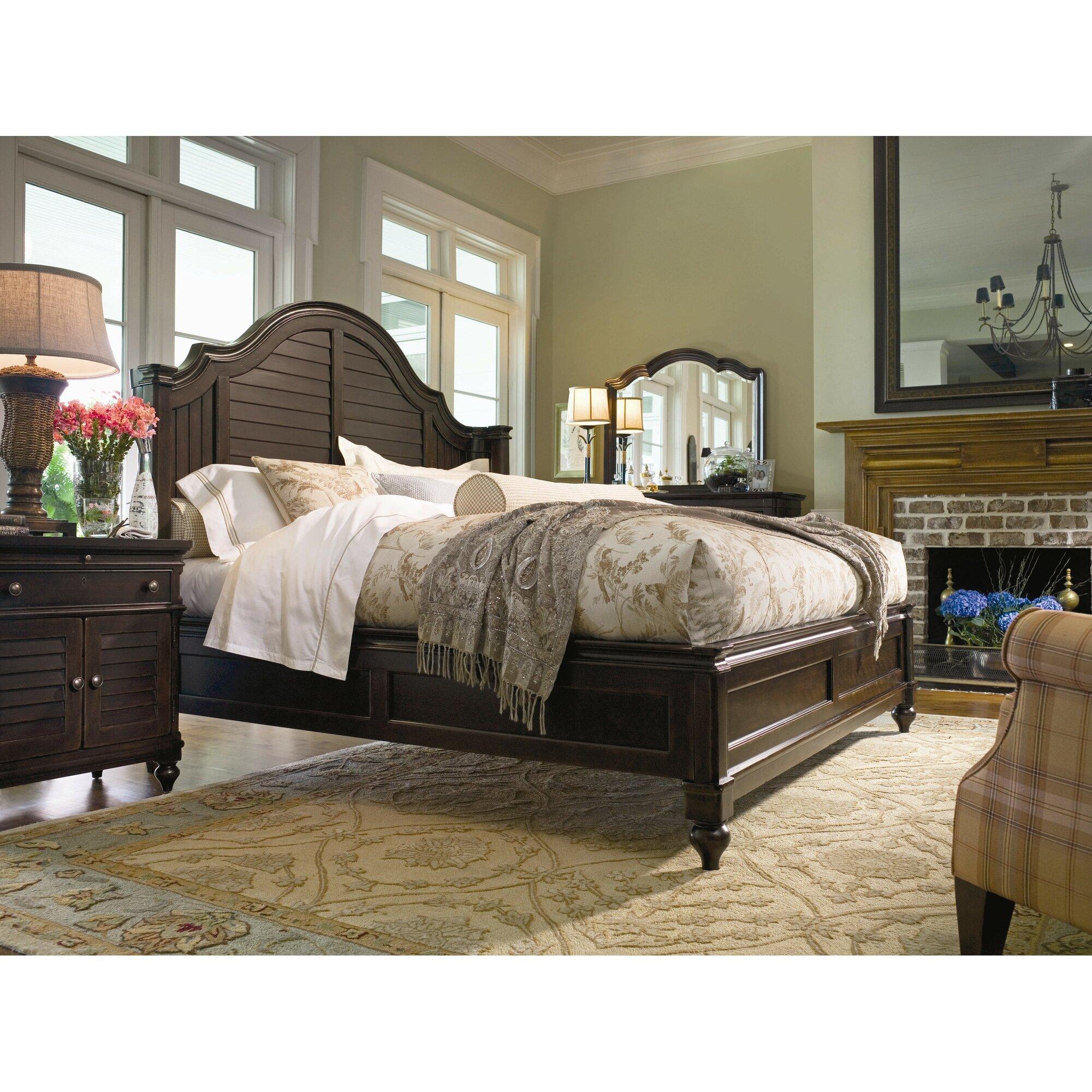 Paula Deen Home Steel Magnolia Panel Customizable Bedroom