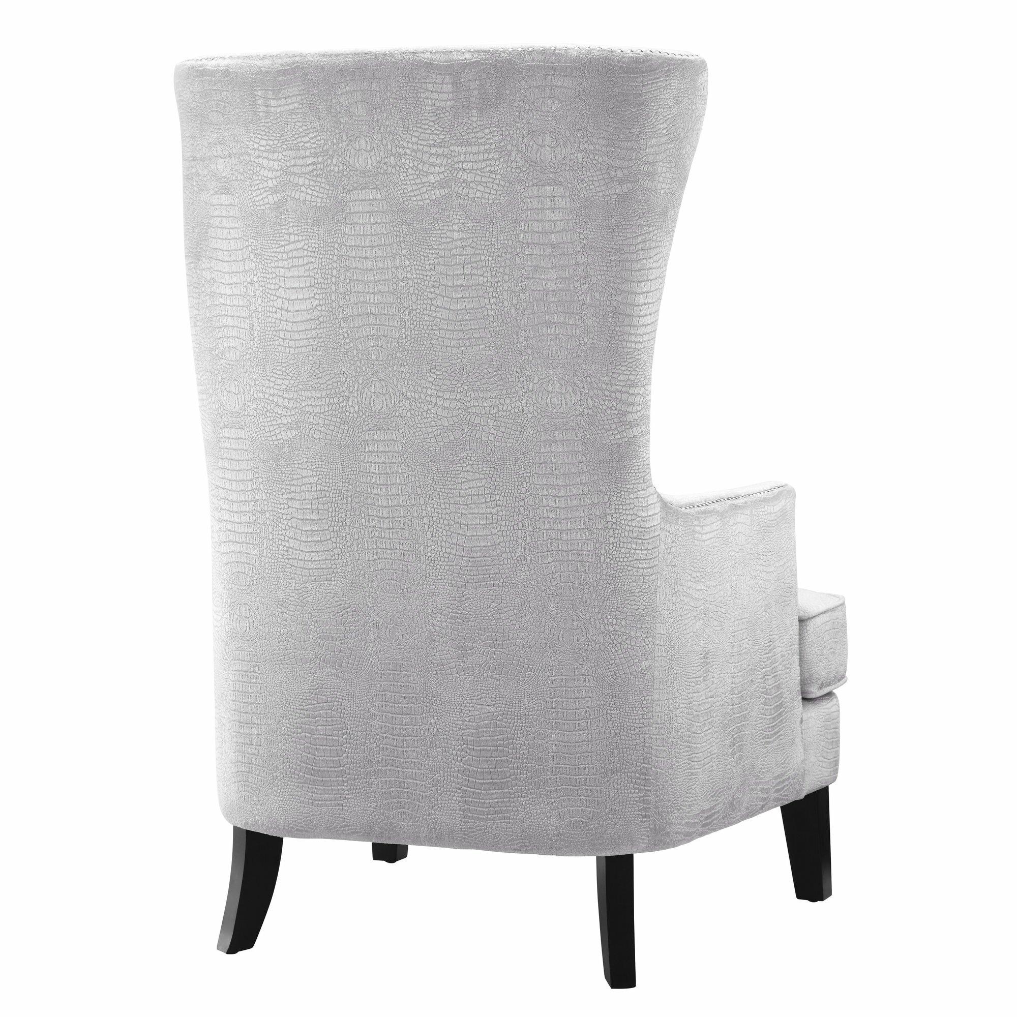 White Velvet Chair Instachair