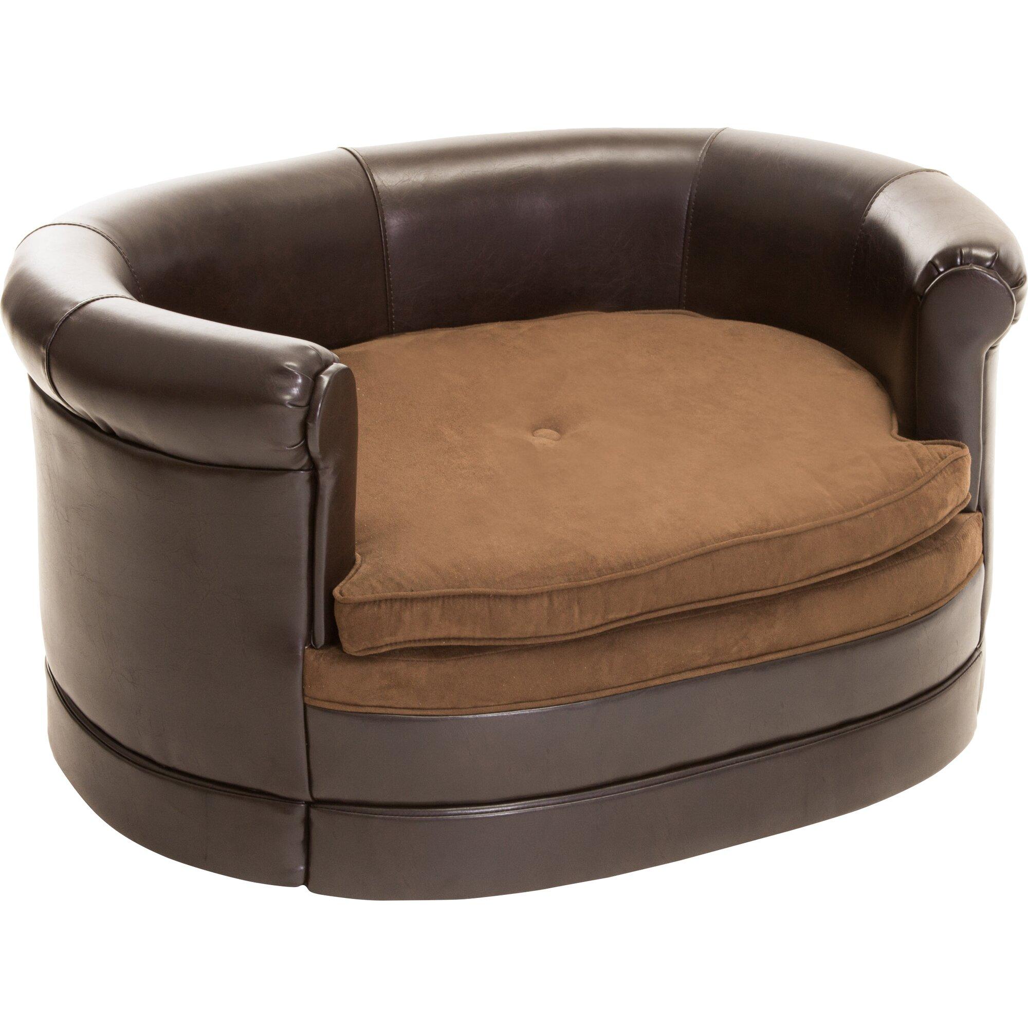 Home Loft Concepts Dofferville Oval Cushy Dog Sofa